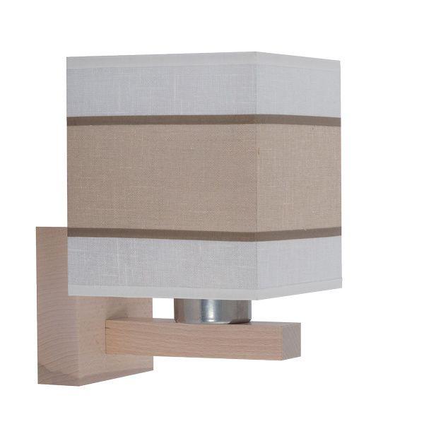Настенный светильник с абажуром 560 Lea white