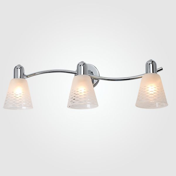 Настенный светильник с поворотными плафонами 20053/3 хром