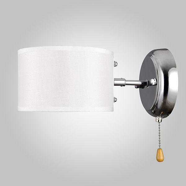 Настенный светильник с выключателем 70045/1 хром