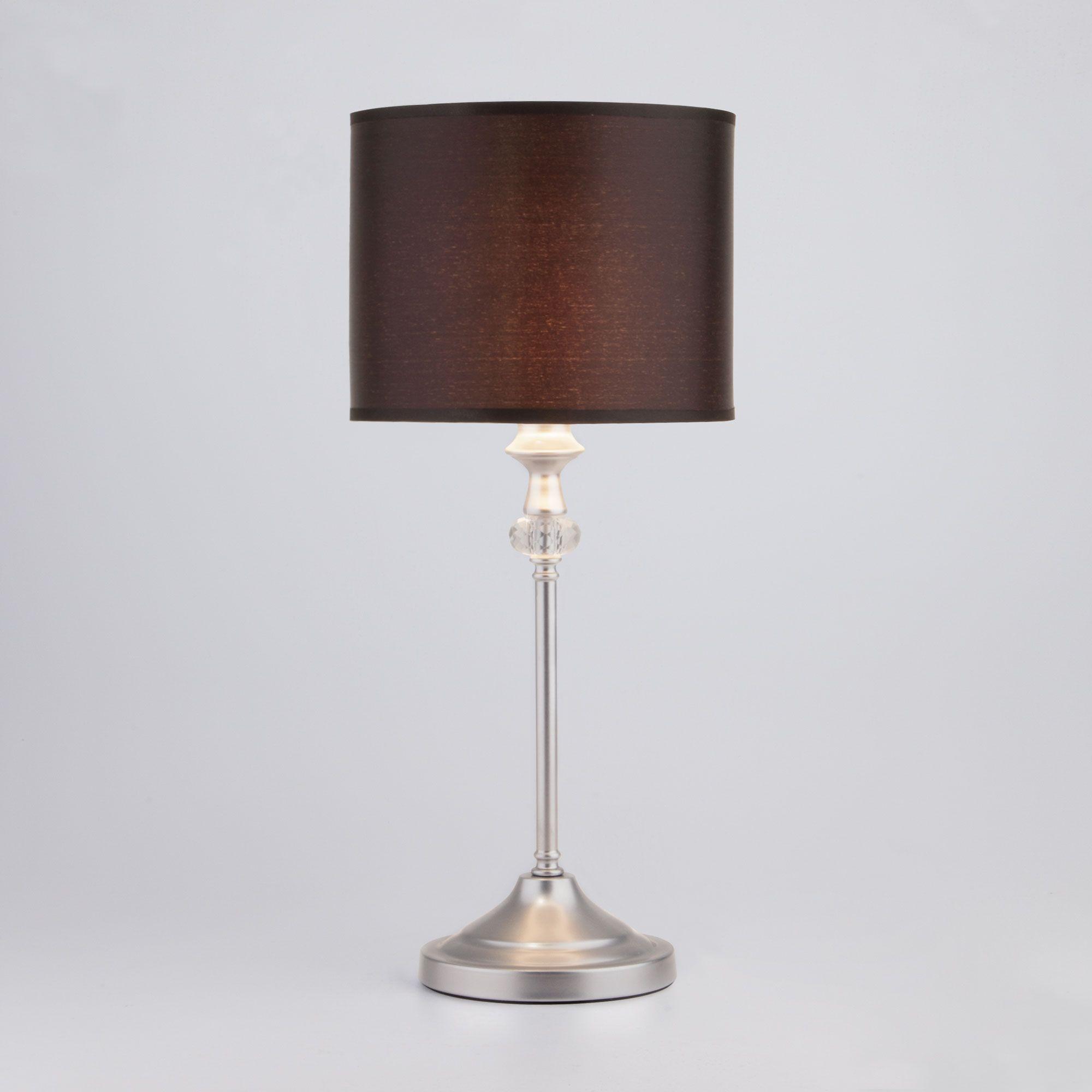 Настольная лампа 01049/1 серебро