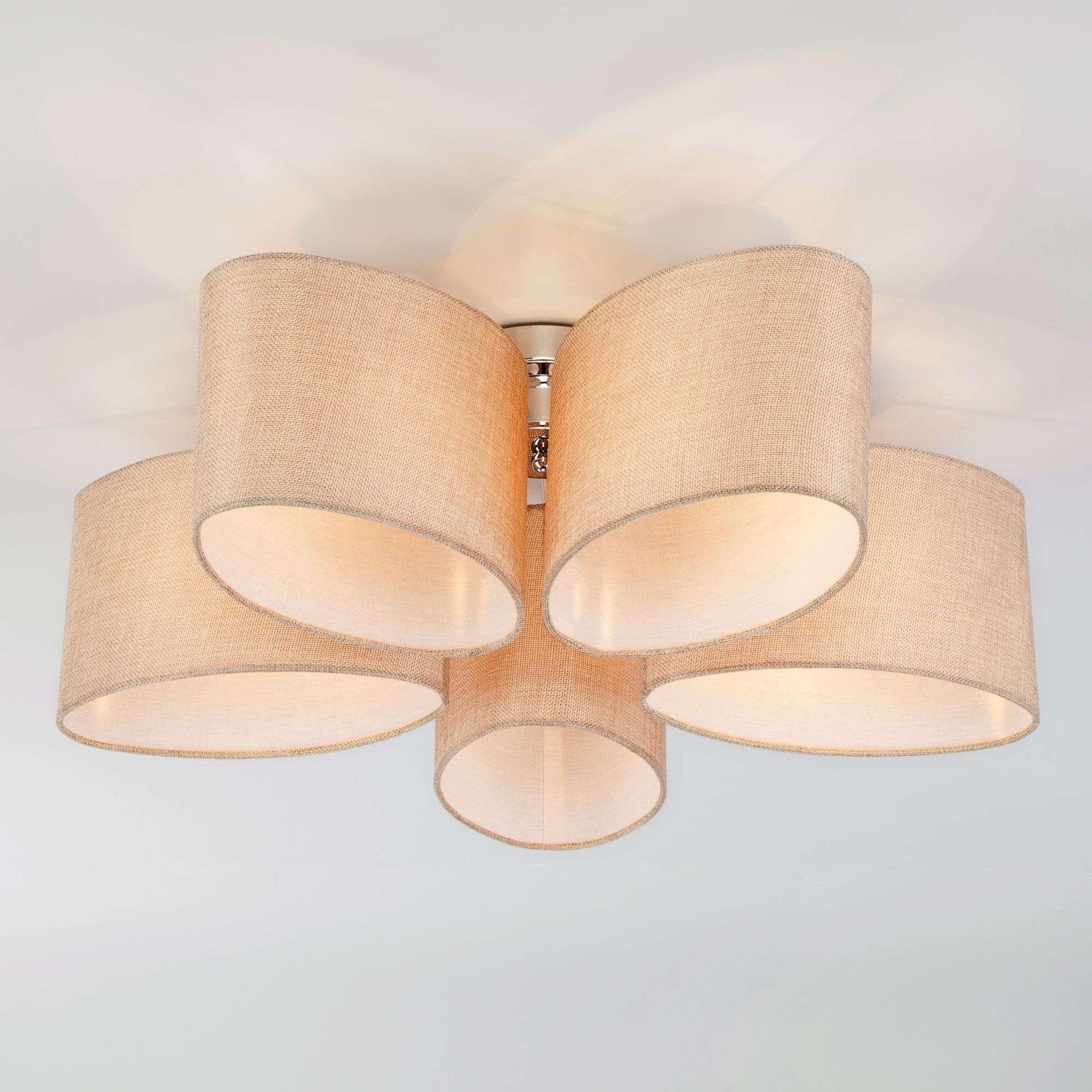 Потолочный светильник 60083/5 хром