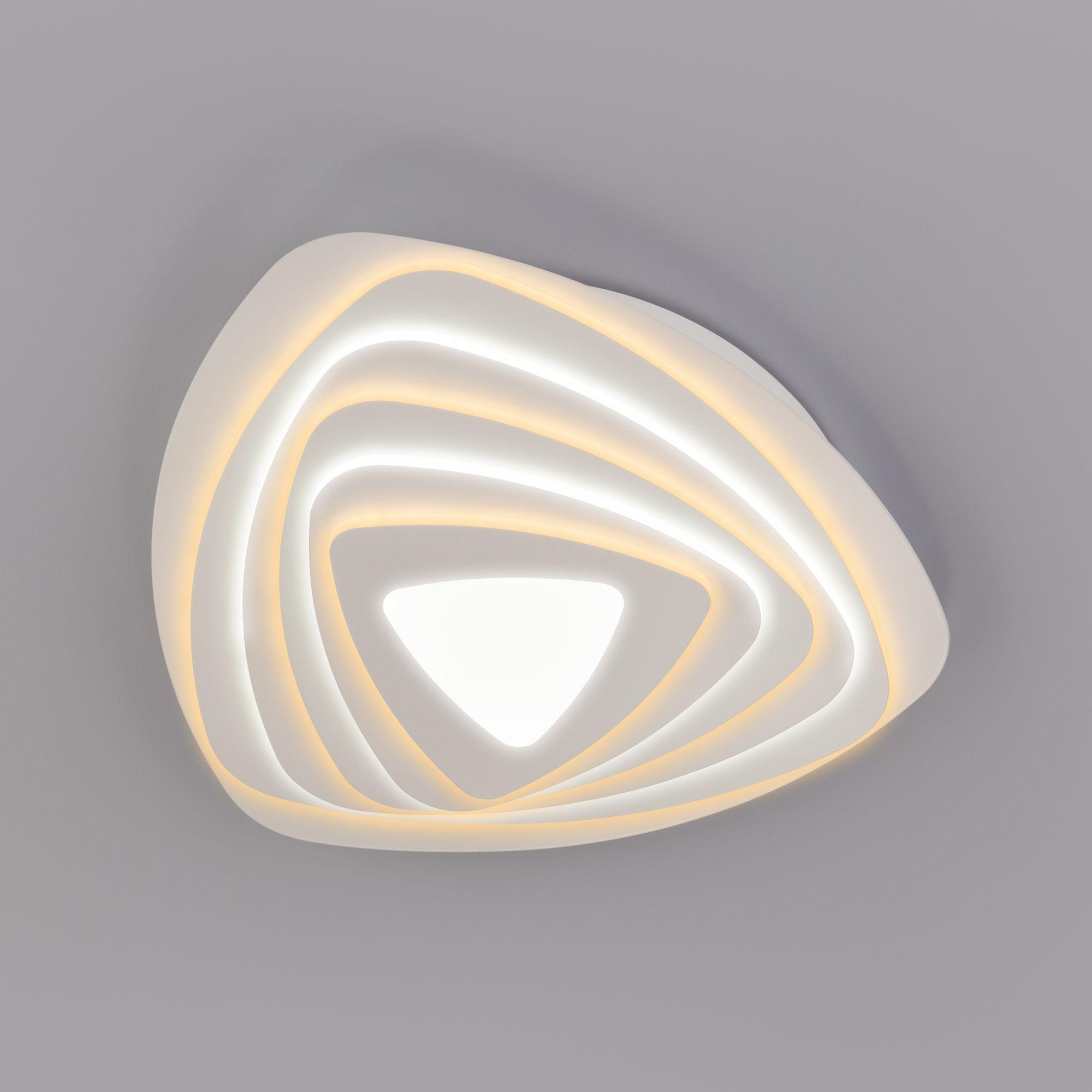 Светодиодный потолочный светильник с пультом управления 90150/6 белый
