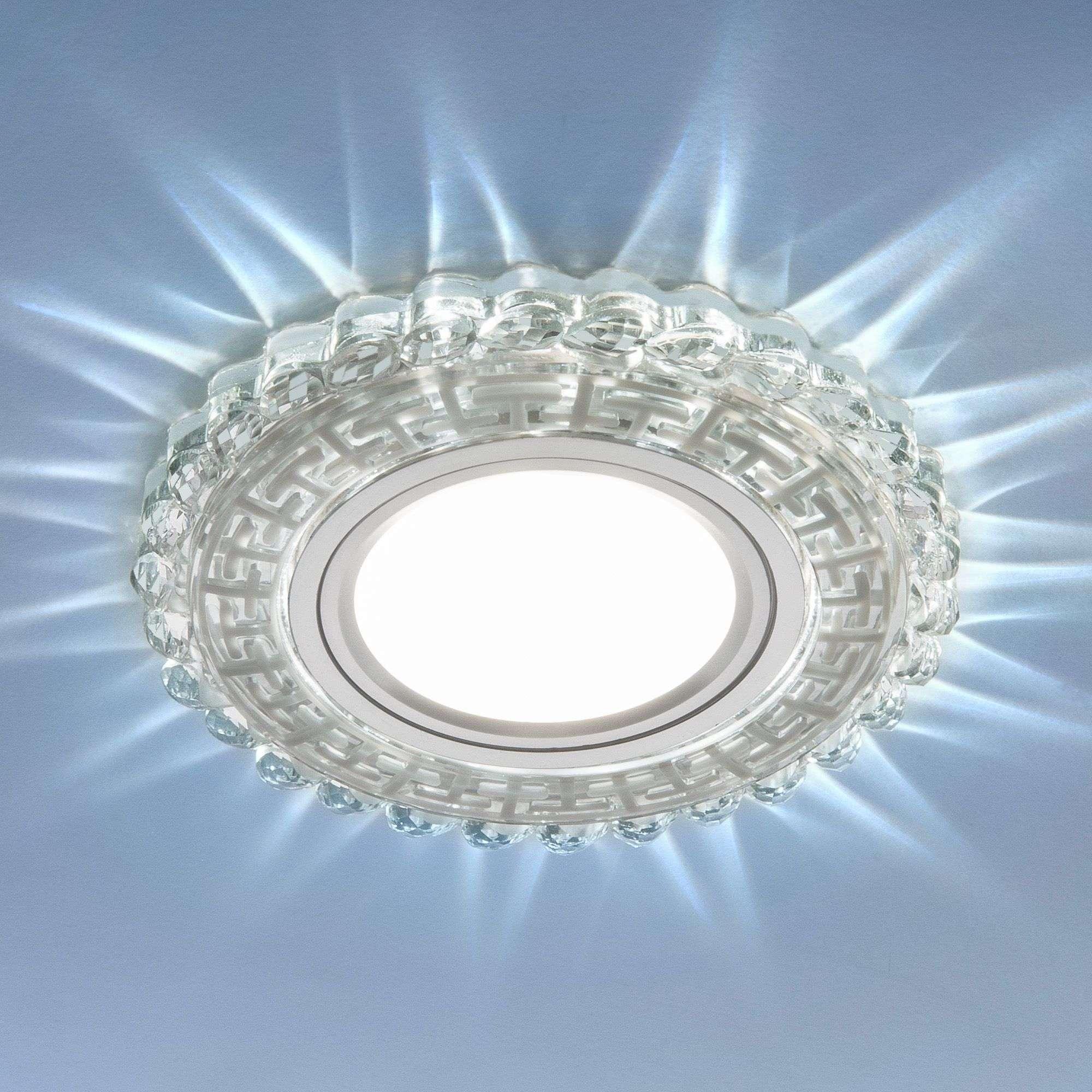 Встраиваемый потолочный светильник с LED подсветкой 2217 MR16