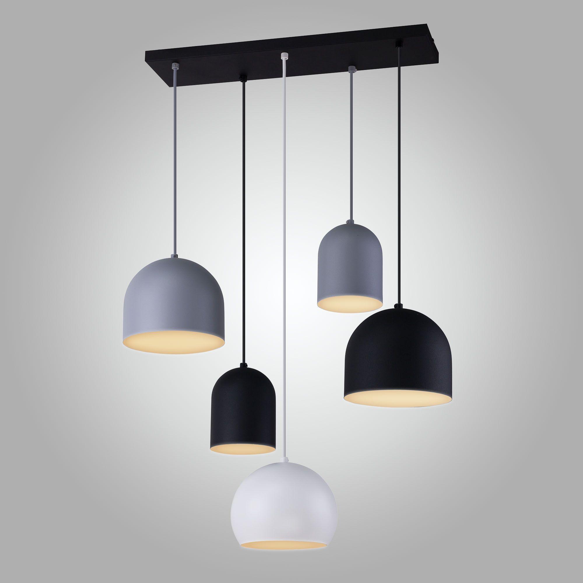 Подвесной светильник с металлическими плафонами 2829 Tempre