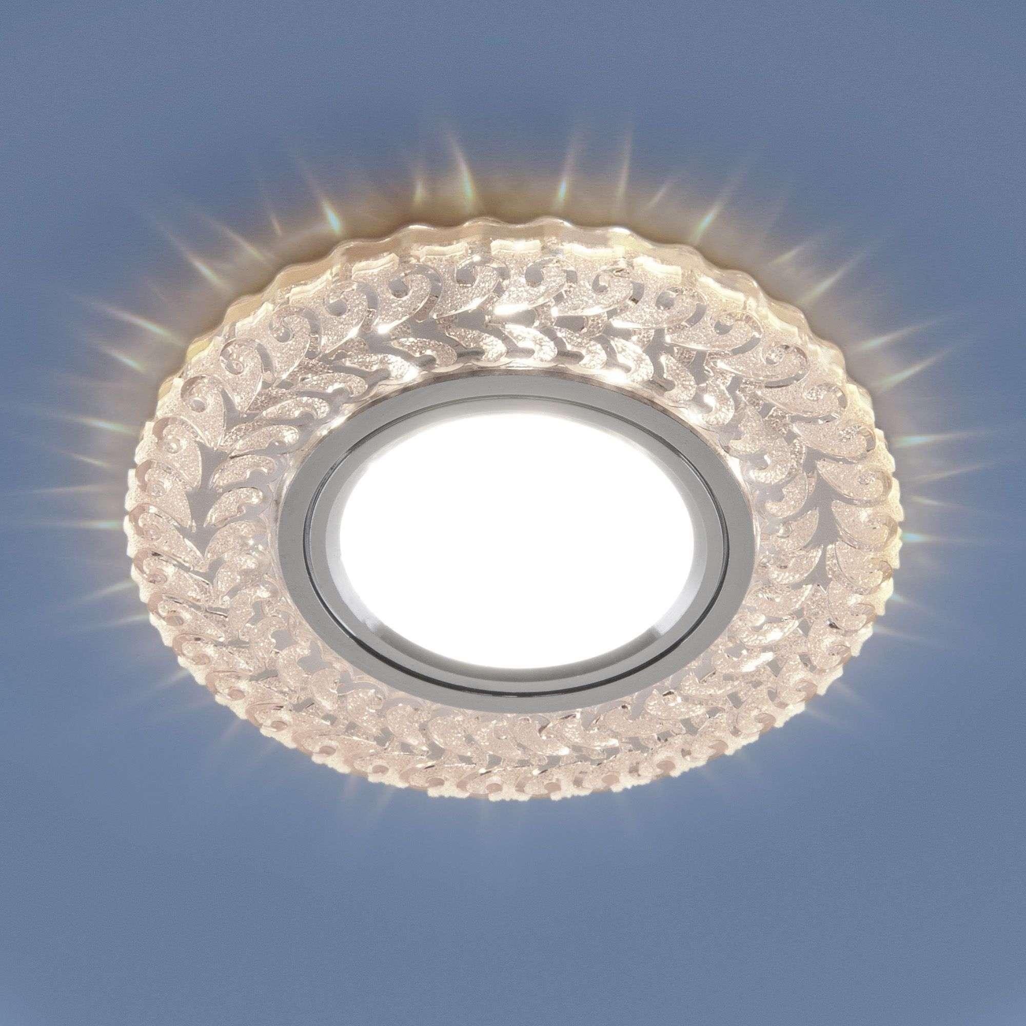 Встраиваемый точечный светильник с LED подсветкой 2223 MR16