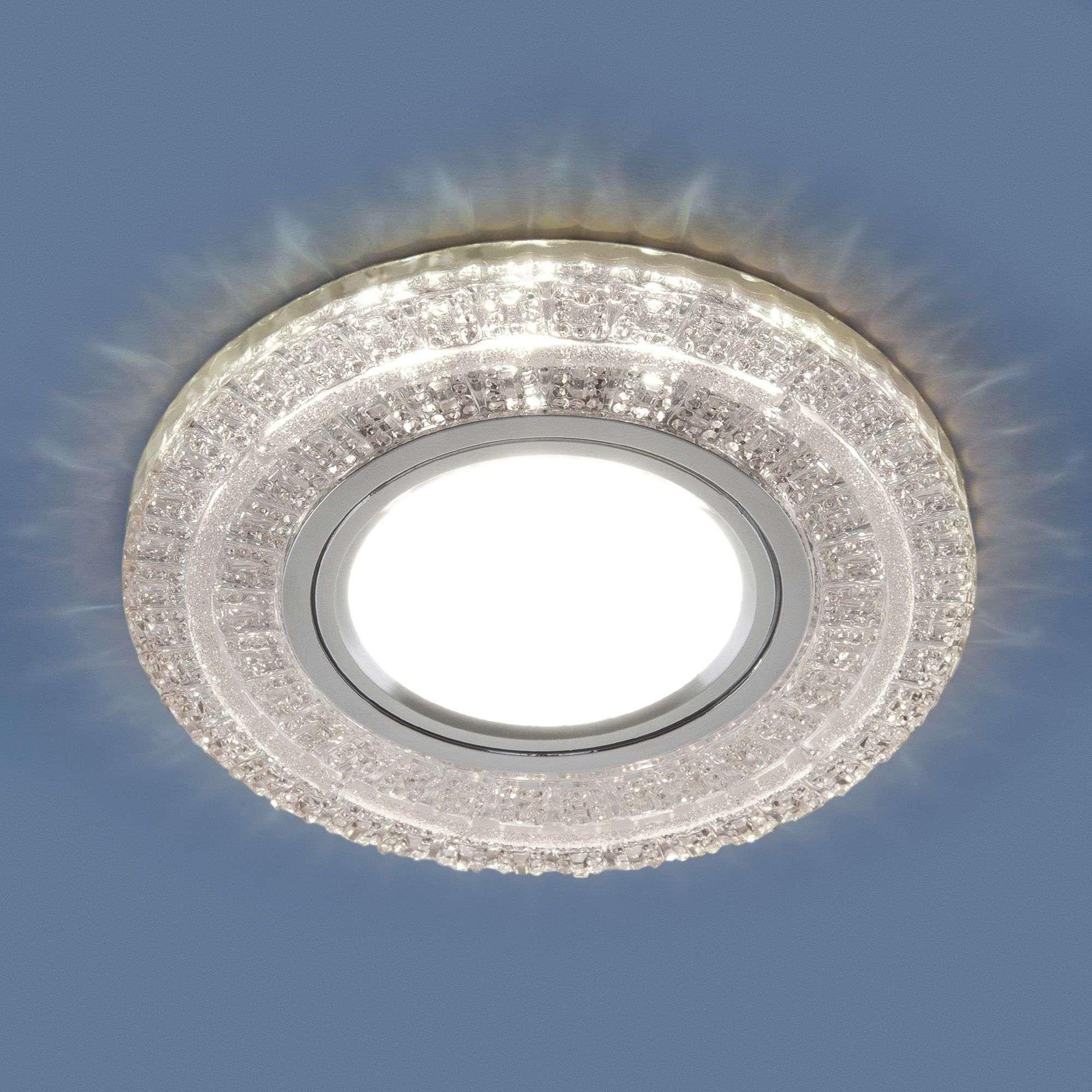 Встраиваемый точечный светильник с LED подсветкой 2225 MR16