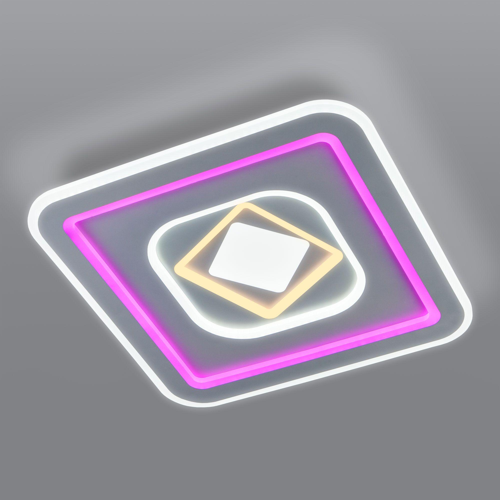 Потолочный светодиодный светильник с пультом управления 90215/1
