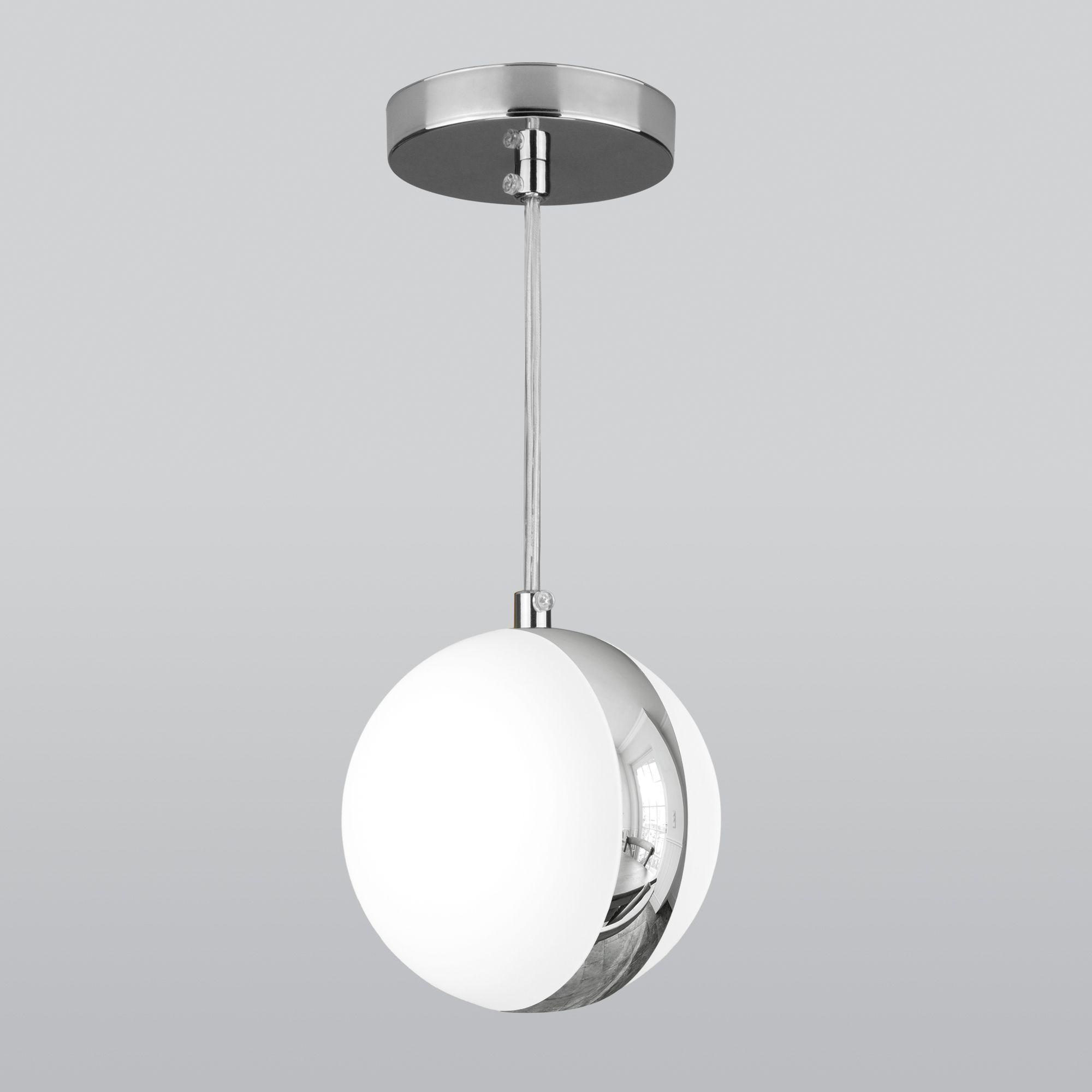 Подвесной светильник DLN050 GX53 белый/хром