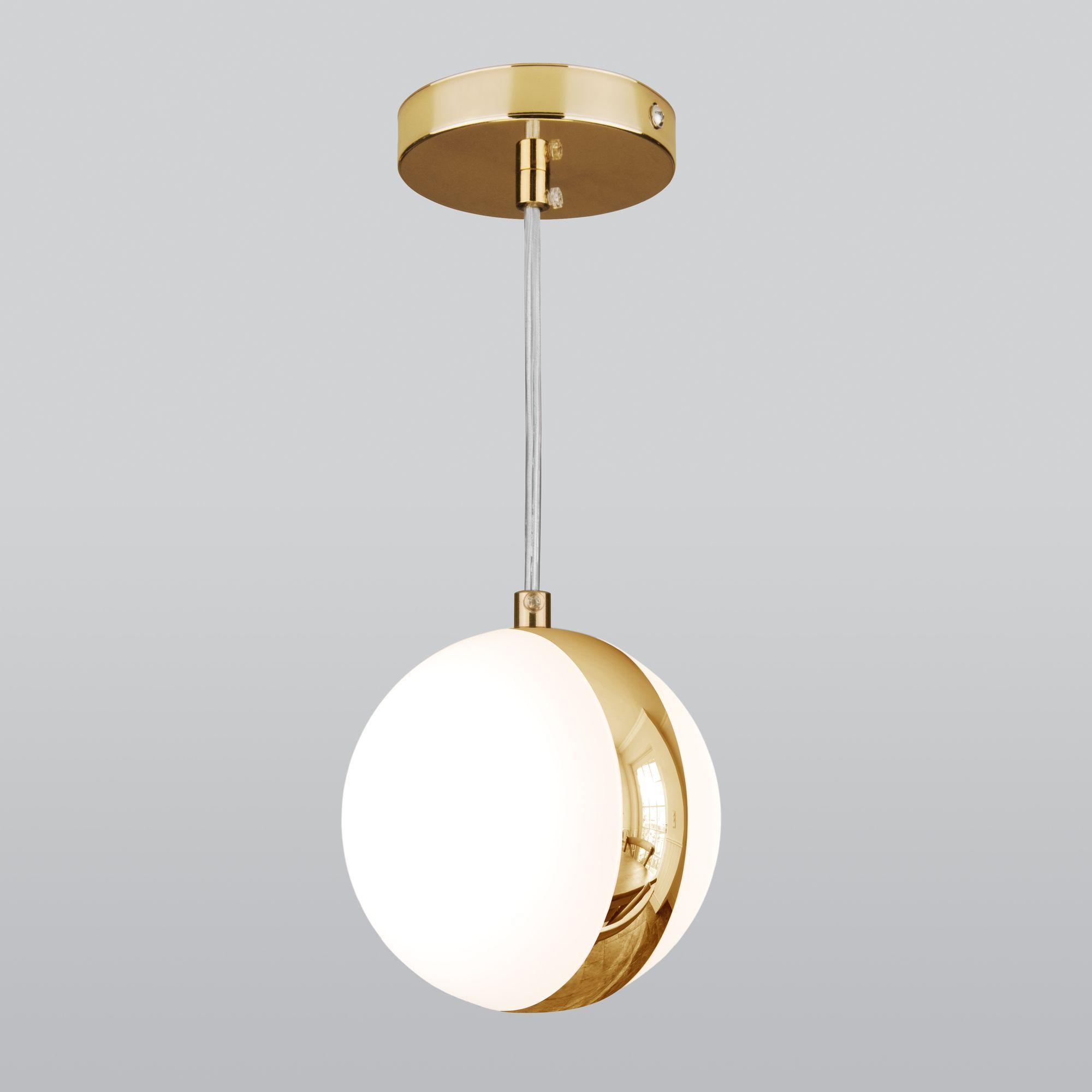Подвесной светильник DLN050 GX53 белый/золото