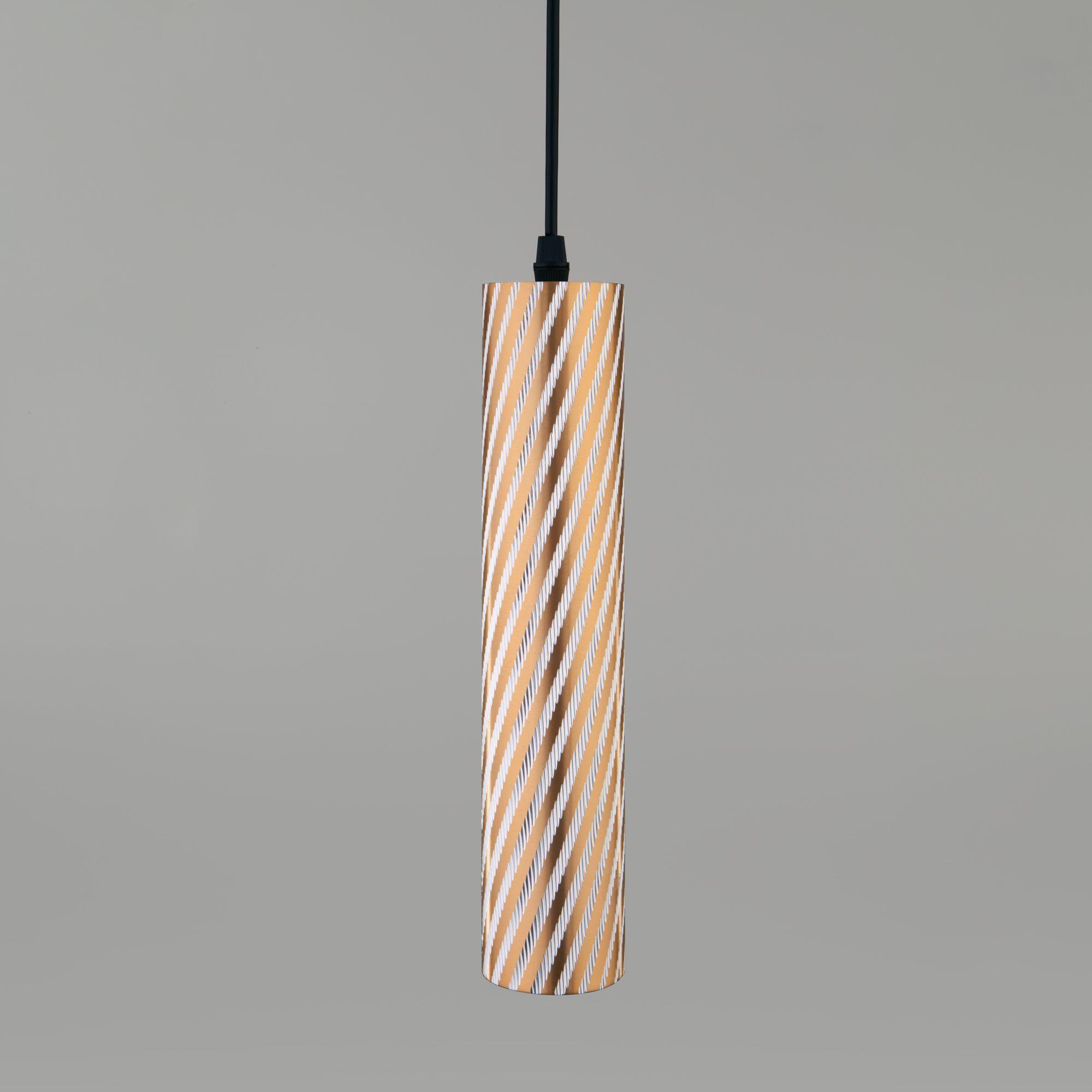 Подвесной светодиодный светильник 50190/1 LED золото