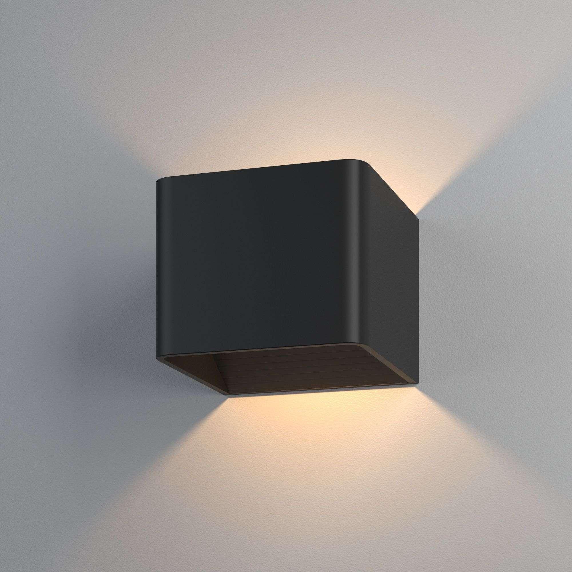 Corudo LED чёрный Настенный светодиодный светильник MRL LED 1060 чёрный