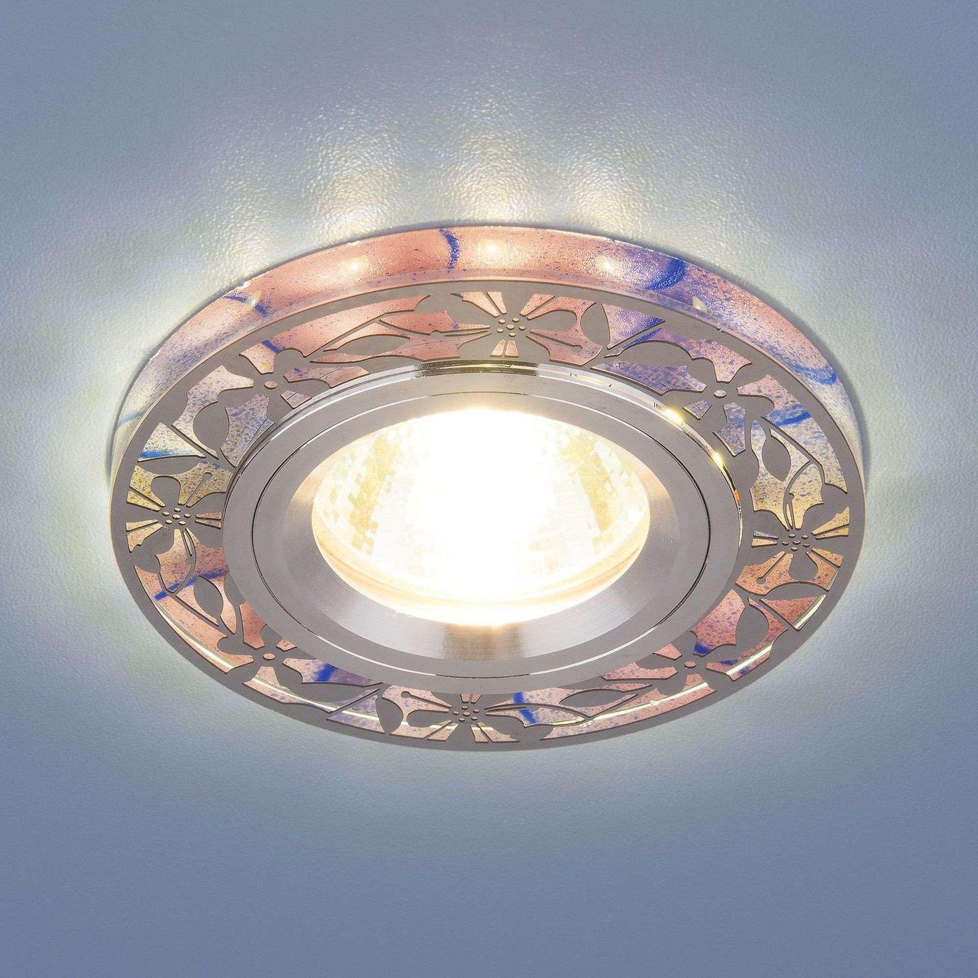 Точечный светильник с LED подсветкой 8096 MR16 PK