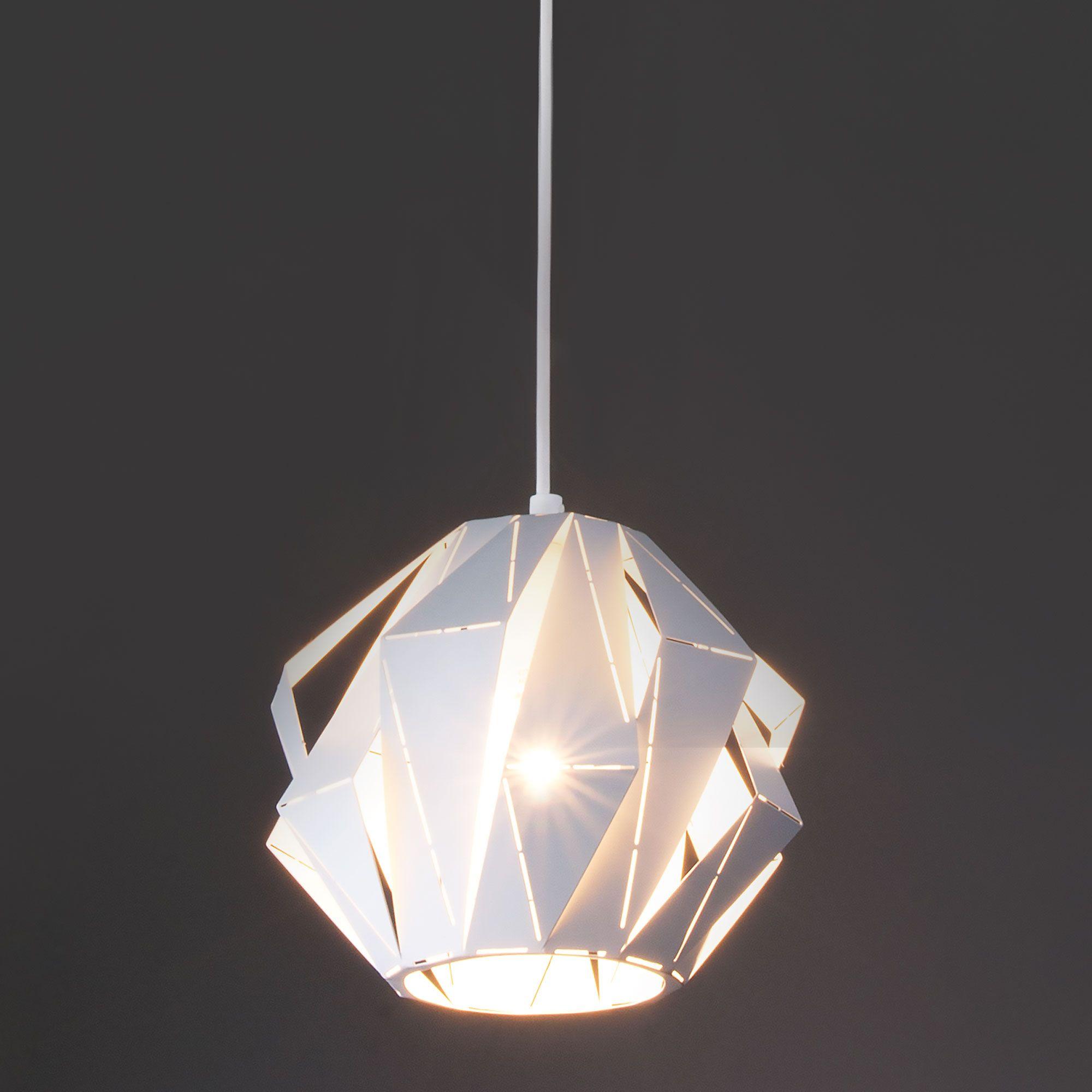 Дизайнерский подвесной светильник лофт 50137/1 белый