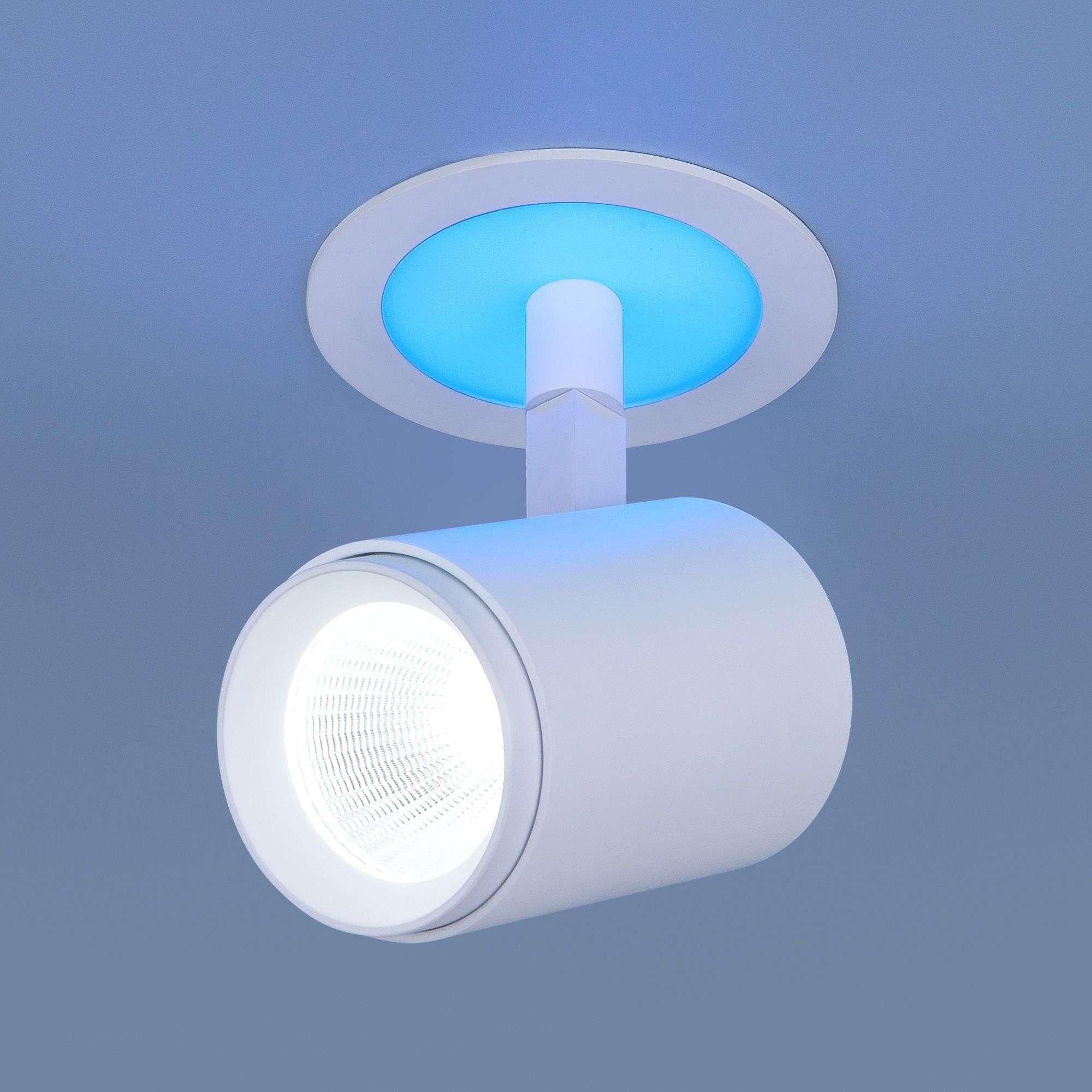 Акцентный светодиодный светильник DSR002 9W 6500K Blue