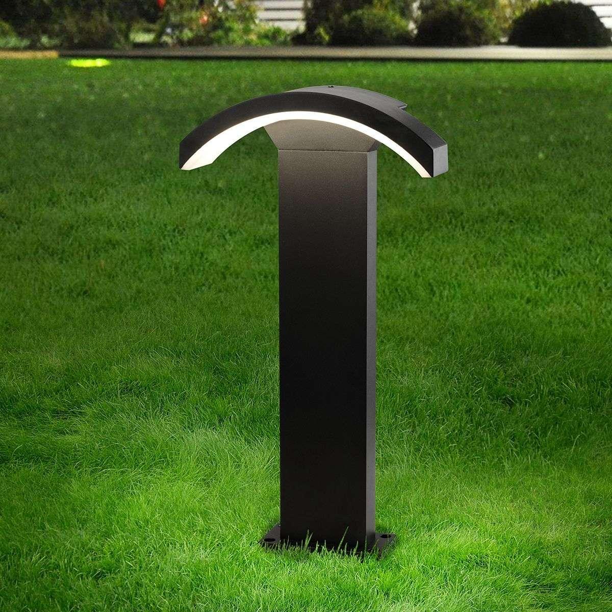 Ландшафтный светодиодный светильник Asteria F IP54 1677 Techno LED черный
