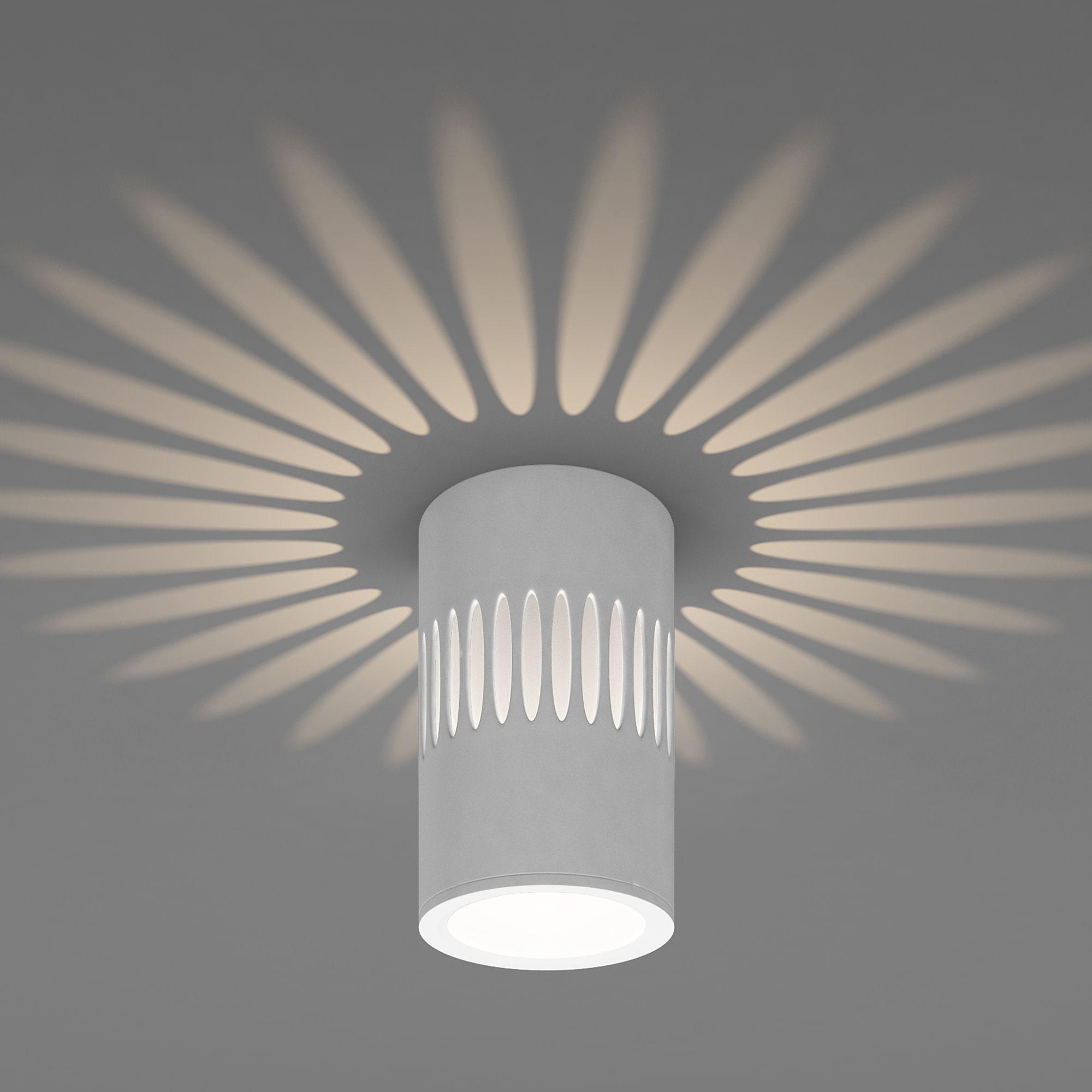 Накладной точечный светильник с подсветкой DLS026
