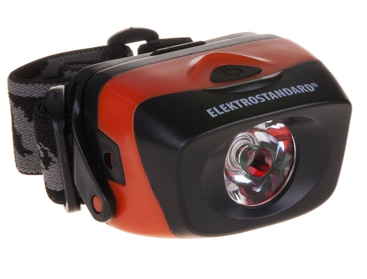 Налобный светодиодный фонарь с поворотным механизмом Extreme FLH01-01W