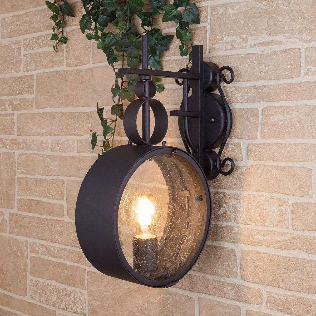 Уличный настенный светильник Imperial D IP44 GL 1033D черный