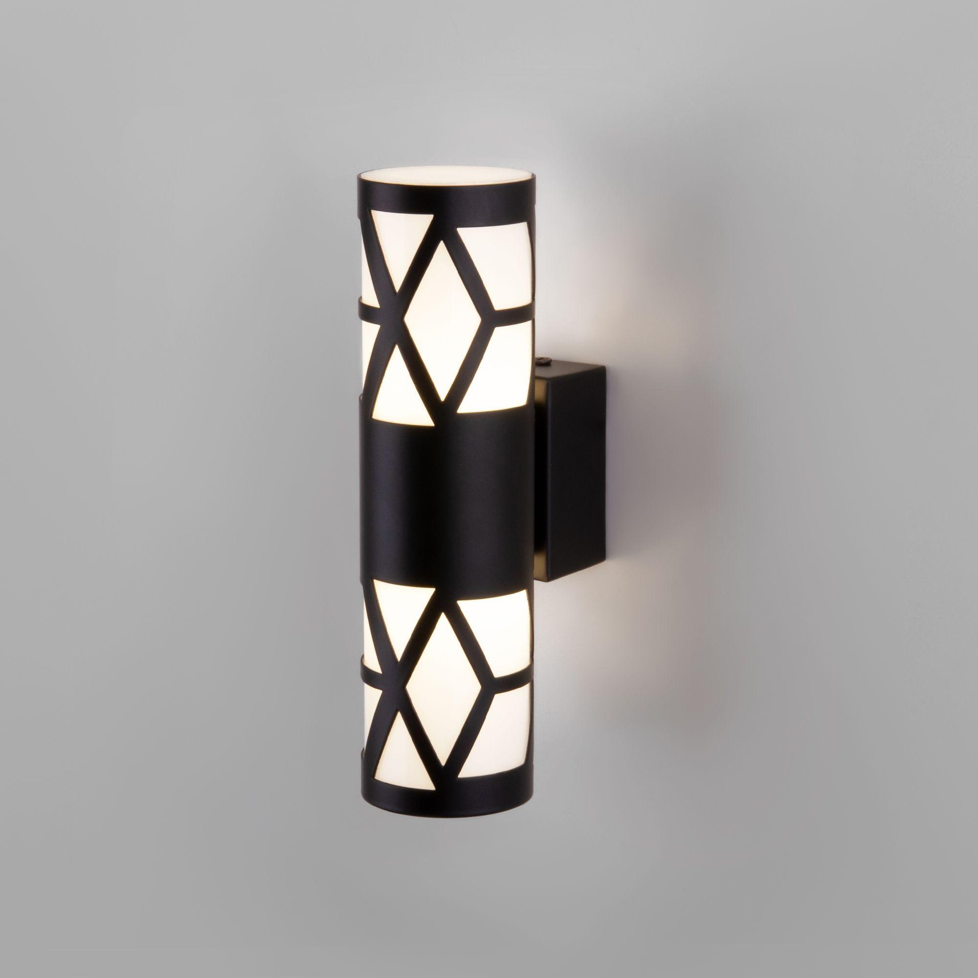 Настенный светодиодный светильник Fanc черный MRL LED 1023