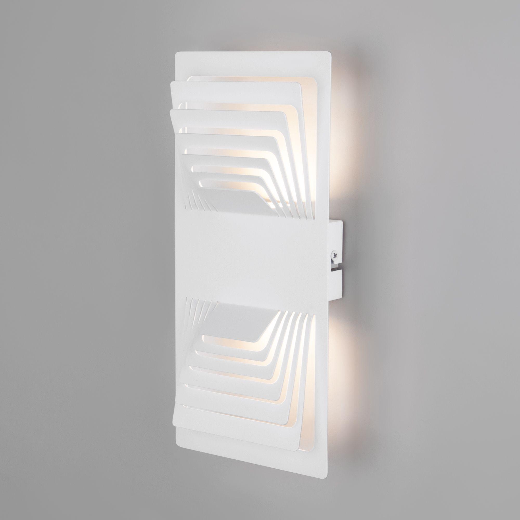 Настенный светодиодный светильник Onda LED белый MRL LED 1025