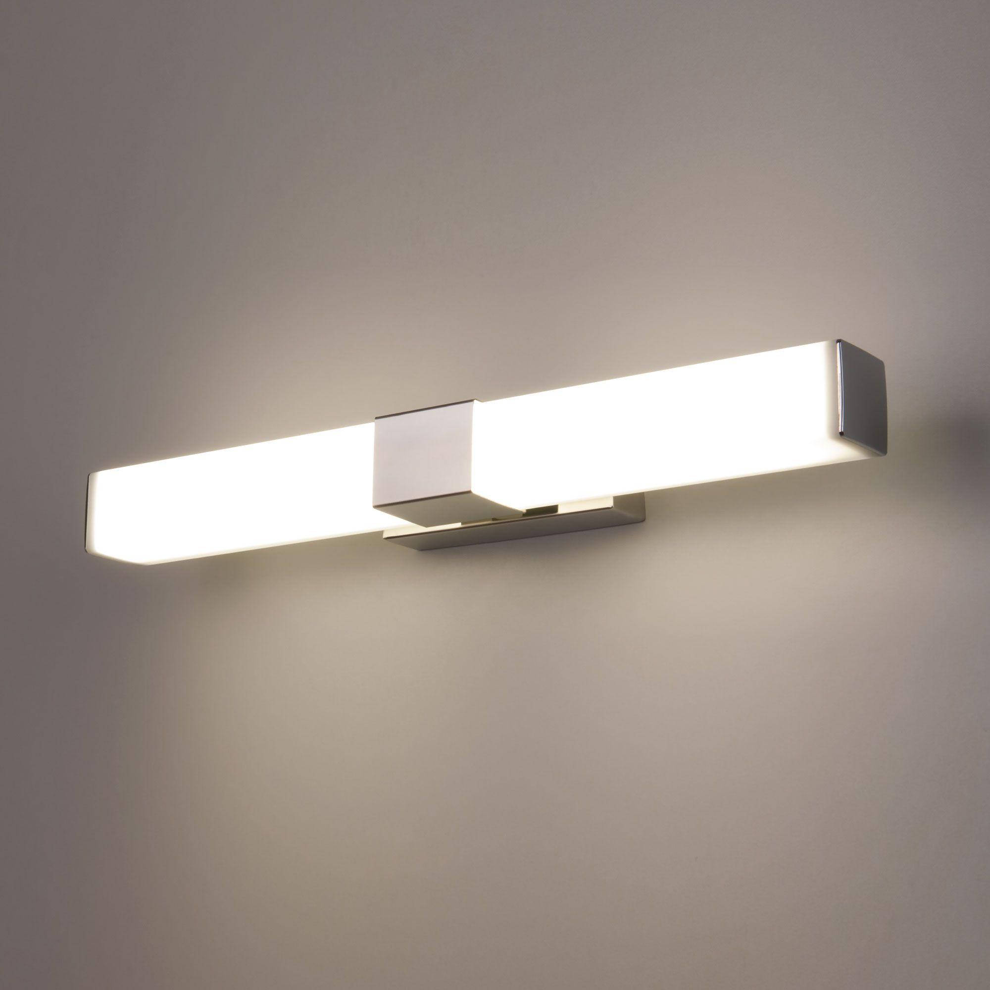 Настенный светодиодный светильник Protera LED хром IP44 Protera LED хром (MRL LED 1008)