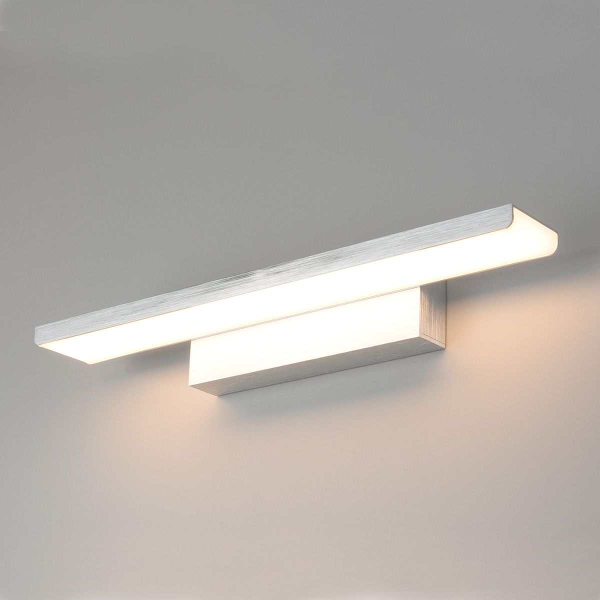 Настенный светодиодный светильник Sankara LED серебро Sankara LED 16W IP20 серебряный