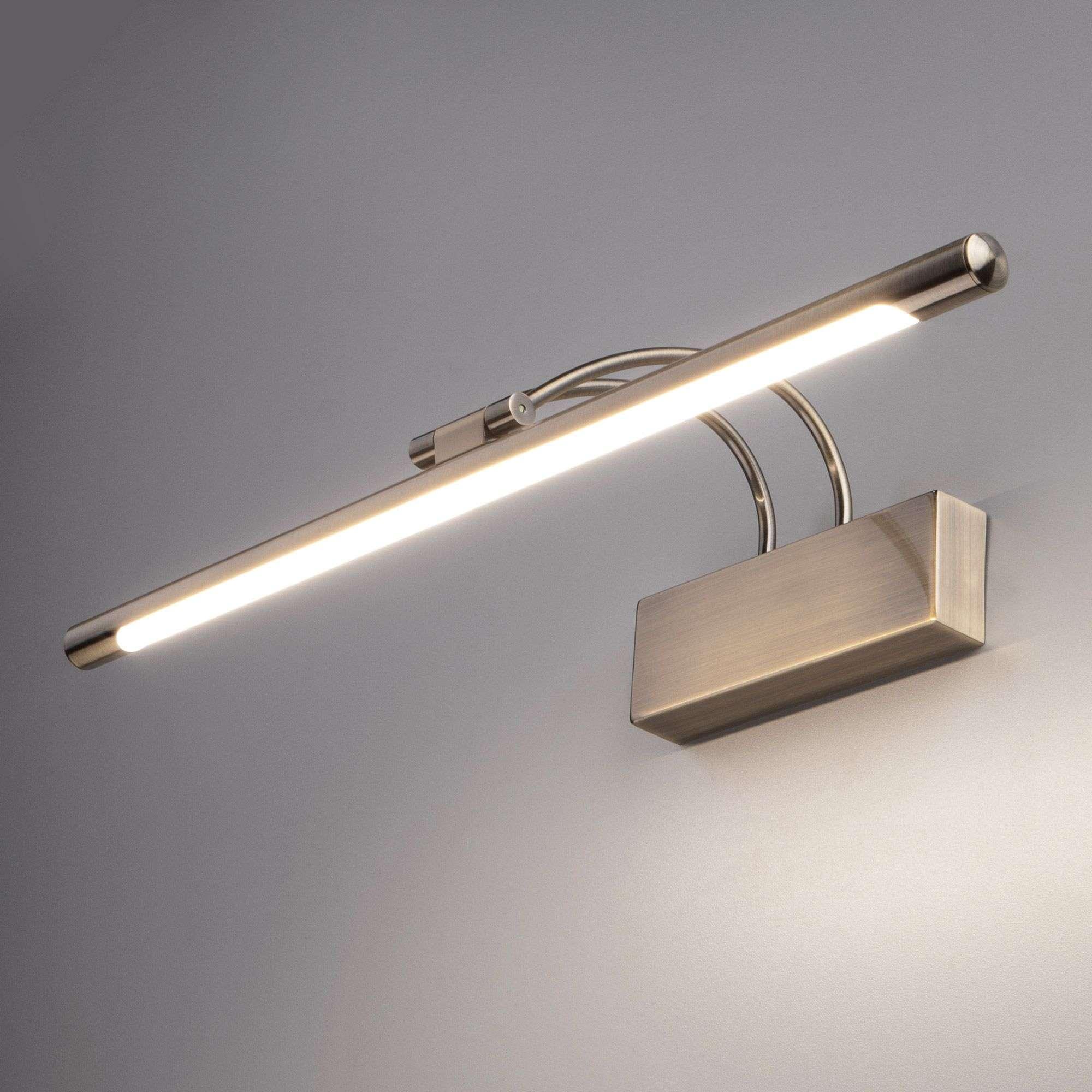 Настенный светодиодный светильник Simple LED бронза Simple LED 10W 1011 IP20 бронза