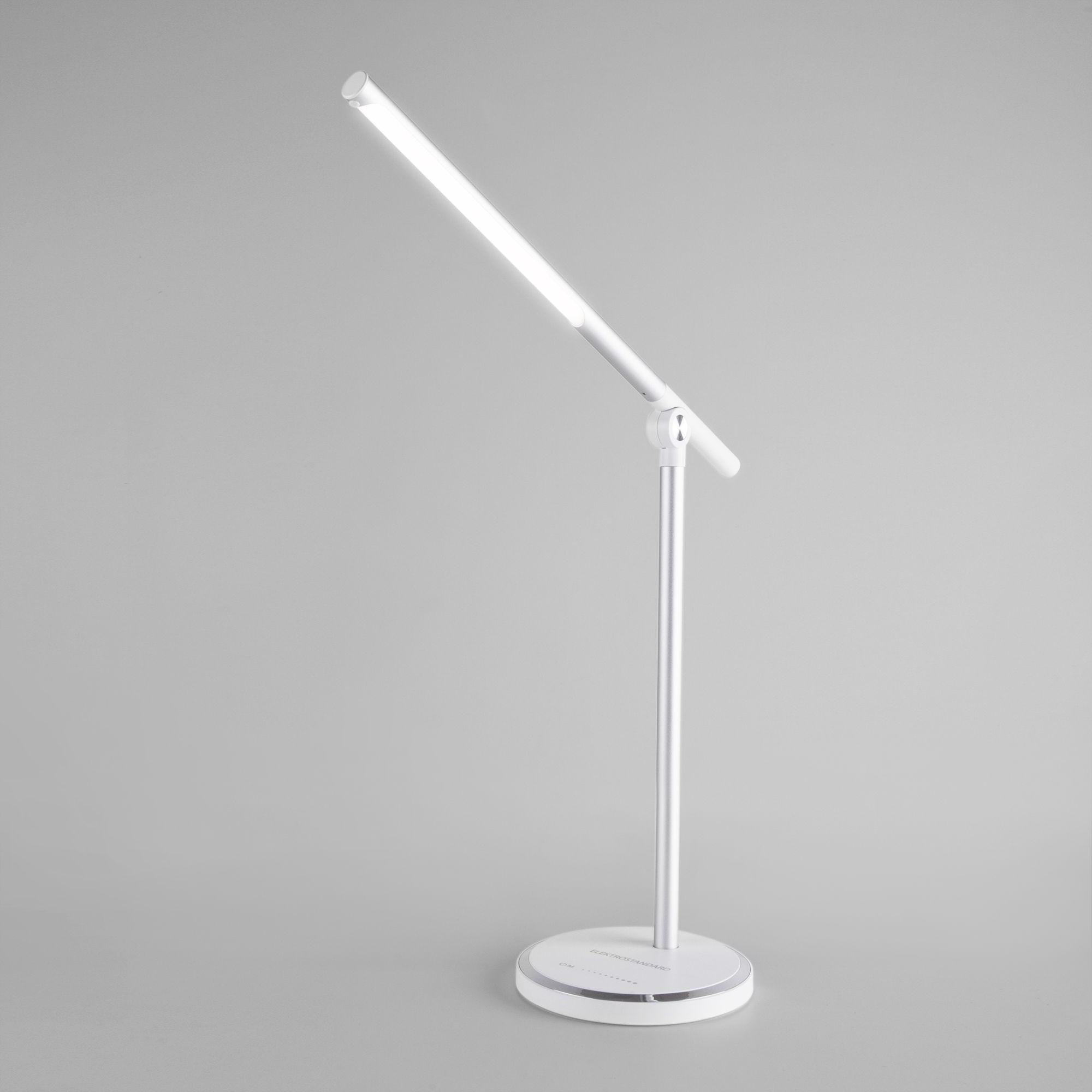 Настольная светодиодная лампа Vara серебро Vara серебро (TL70990)