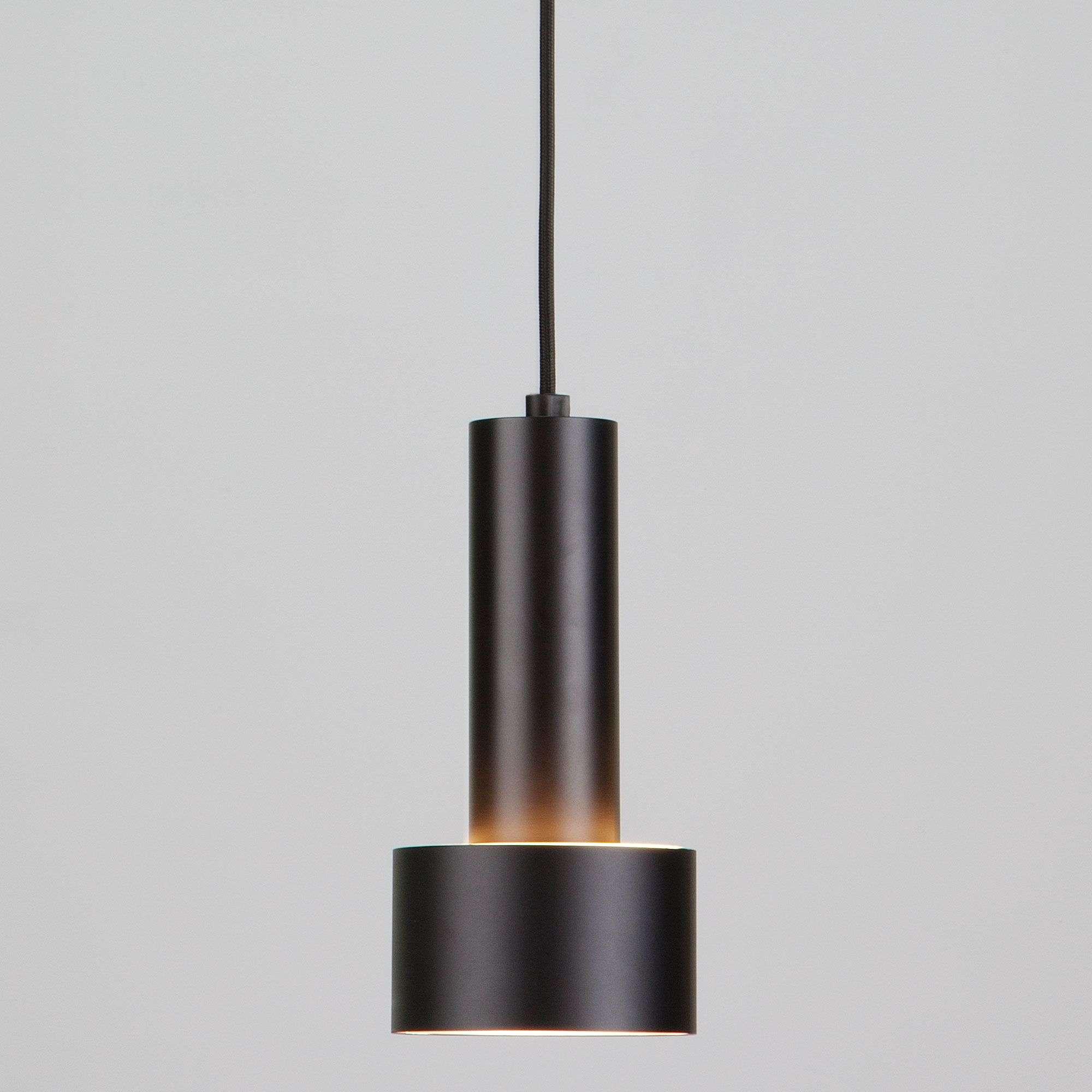 Подвесной LED светильник с матовым рассеивателем 50134/1 LED черный/золото