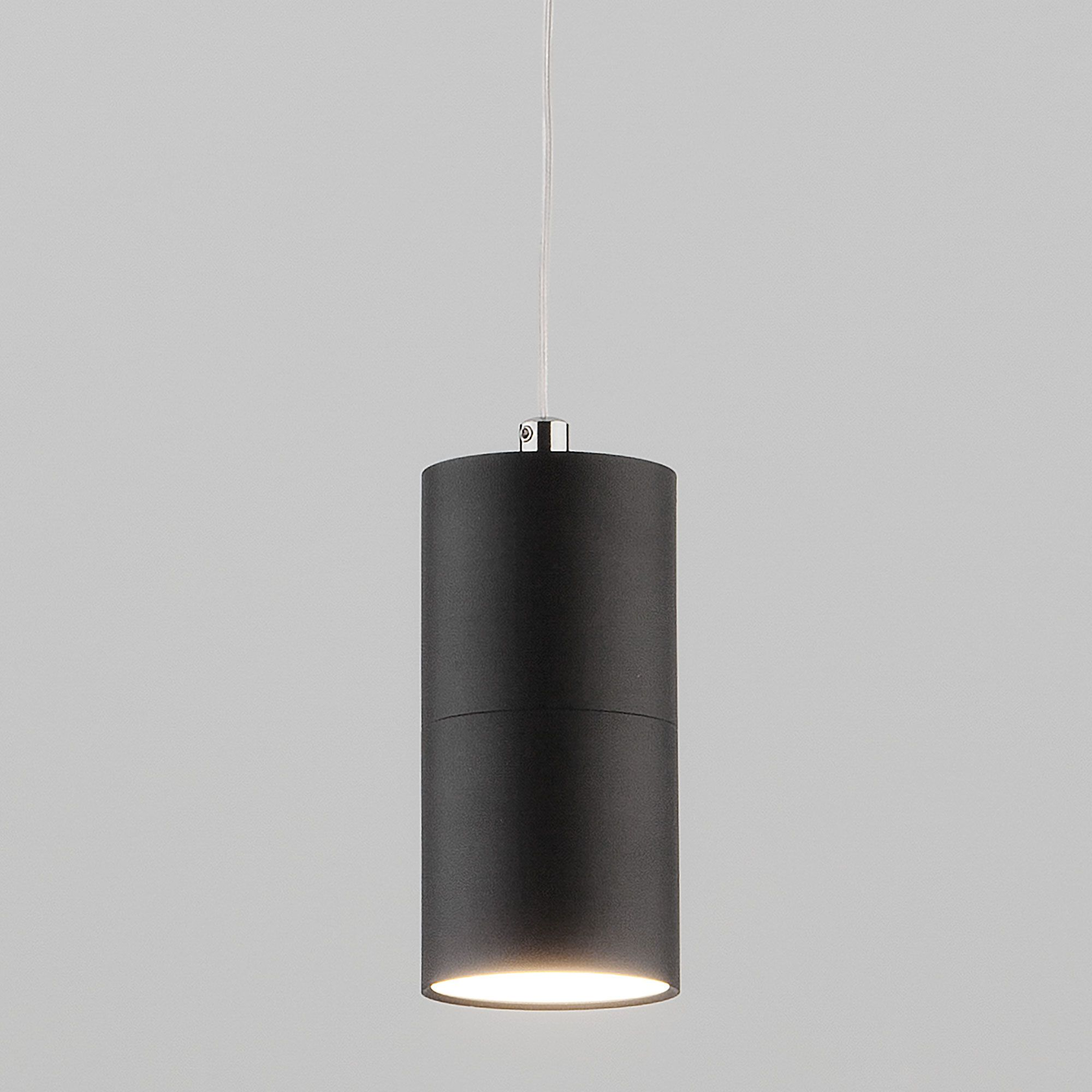Подвесной металлический светильник лофт 50146/1 черный