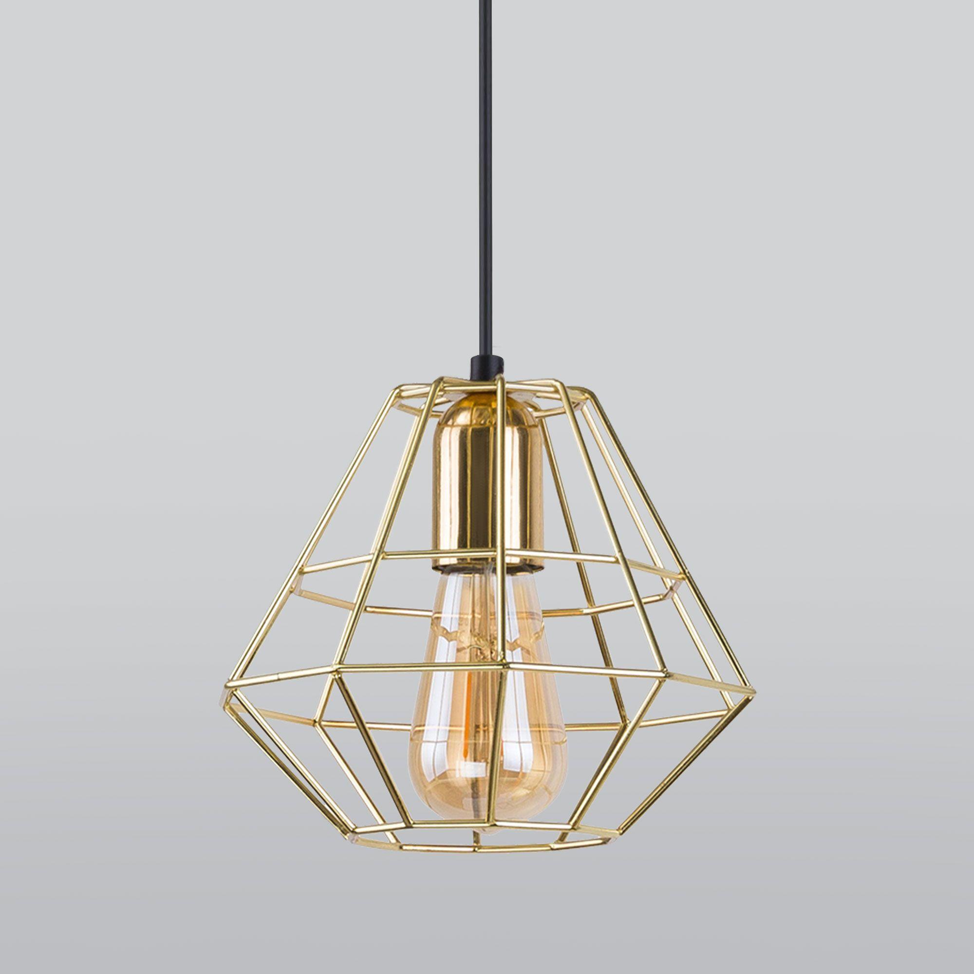 Подвесной светильник 2575 Diamond Gold