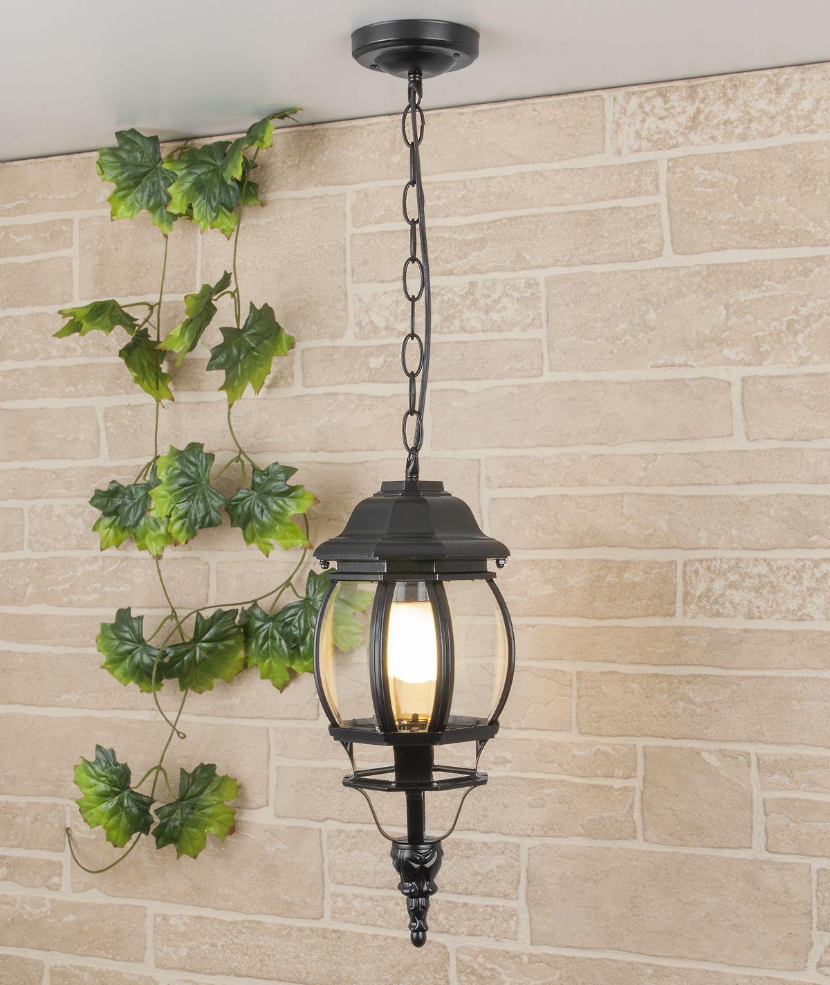 Уличный подвесной светильник GL 1001H черный IP33 GL 1001H черный