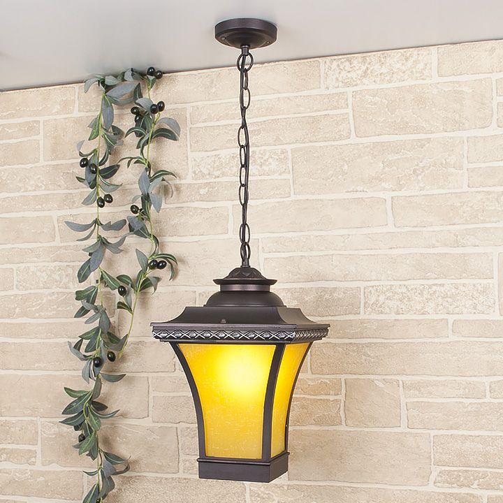 Уличный подвесной светильник Libra H IP33 GLXT-1408H венге