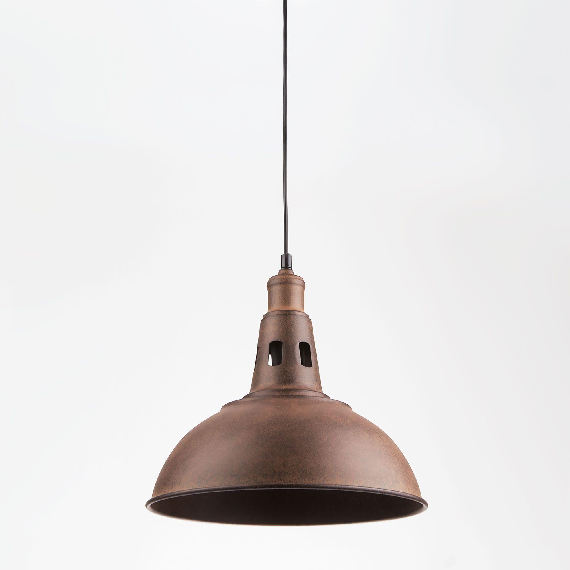 Подвесной светильник лофт 50052/1 патинированный черный