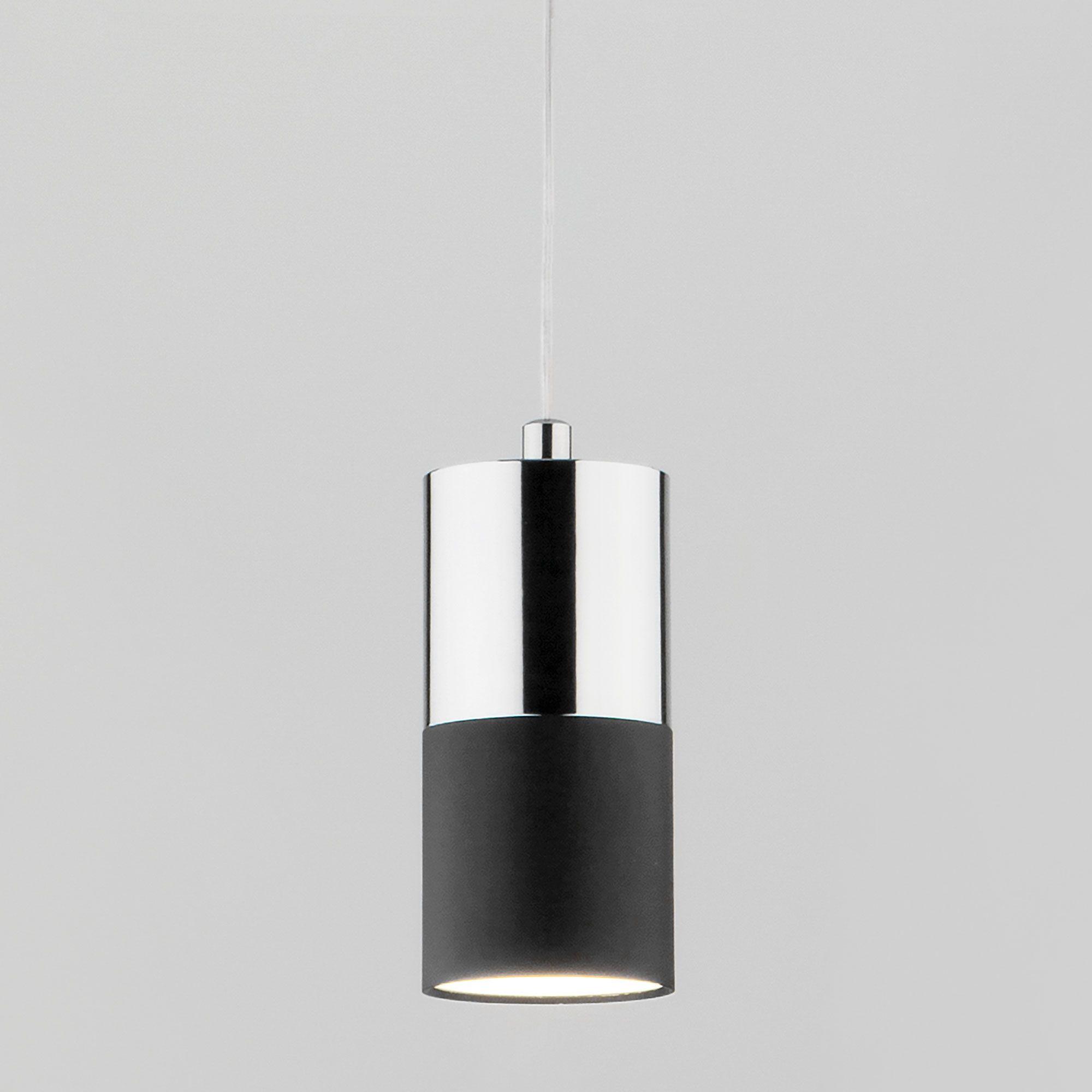 Подвесной светильник лофт 50146/1 хром/черный