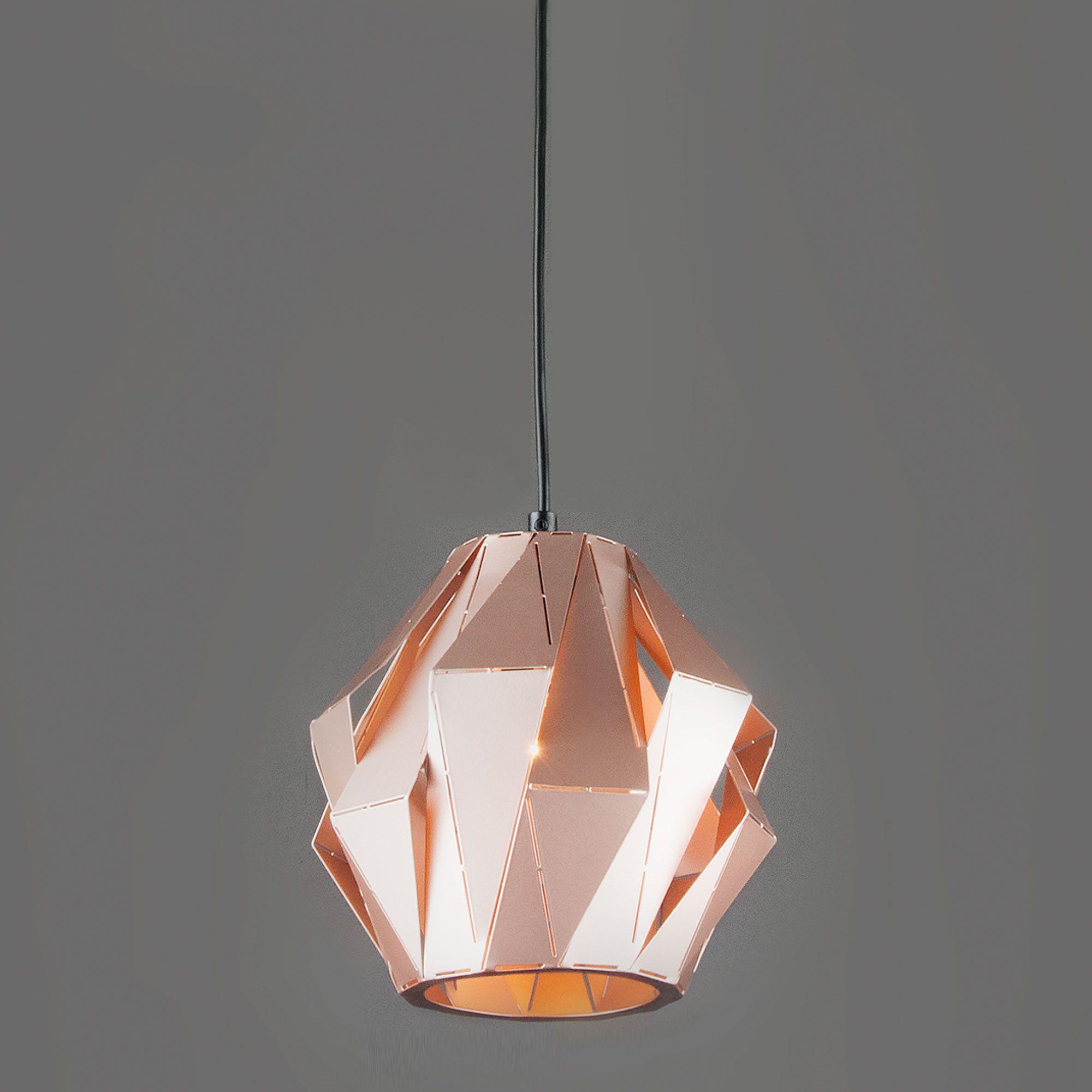 Подвесной светильник лофт с плафоном 50137/1 золотой