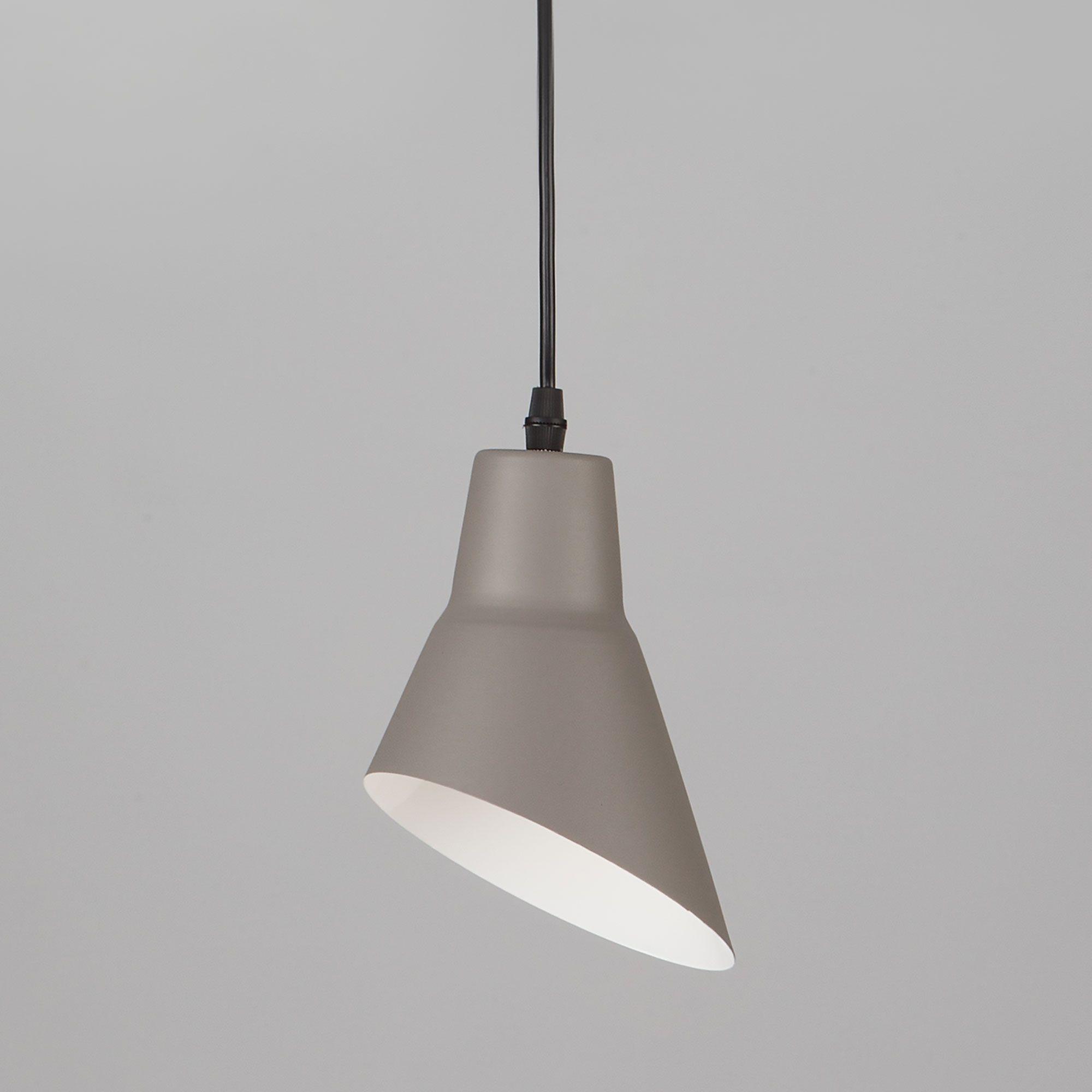 Подвесной светильник с креплением на планку 50069/1 серый