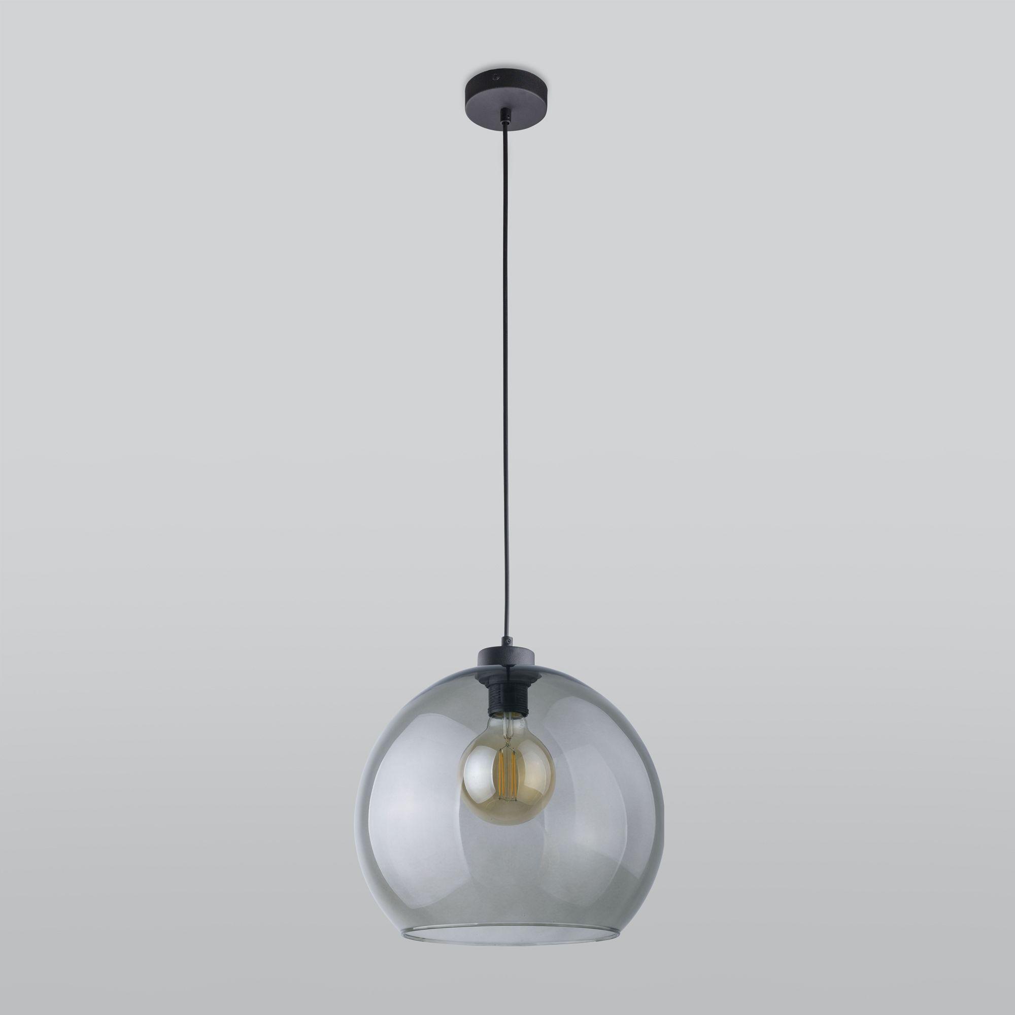 Подвесной светильник со стеклянным плафоном 4292 Cubus Graphite