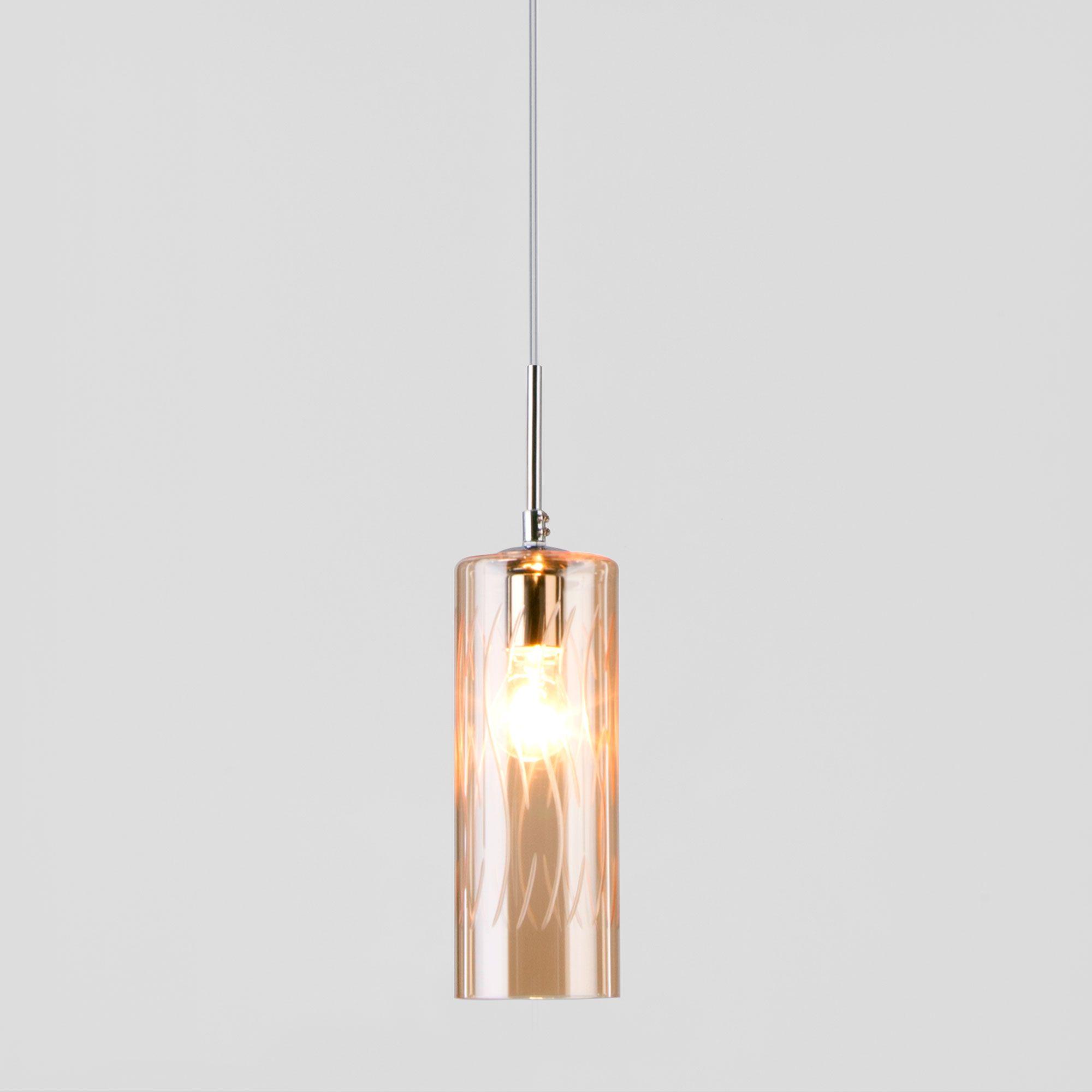 Подвесной светильник со стеклянным плафоном 50149/1