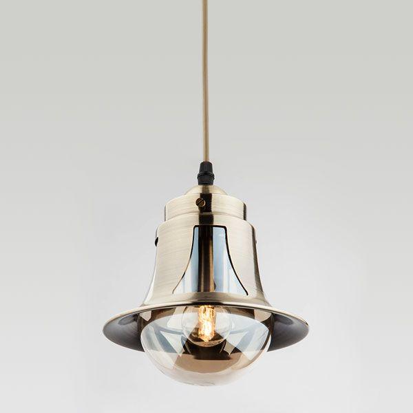 Подвесной светильник в стиле ретро 50055/1 античная бронза