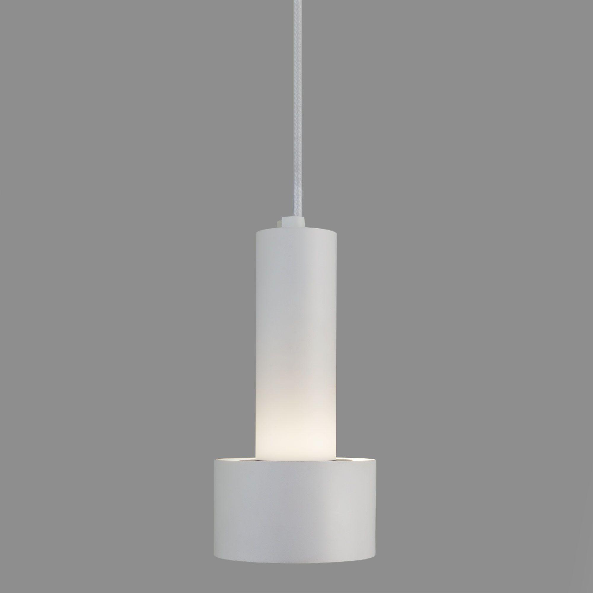 Подвесной светодиодный светильник лофт 50134/1 LED белый