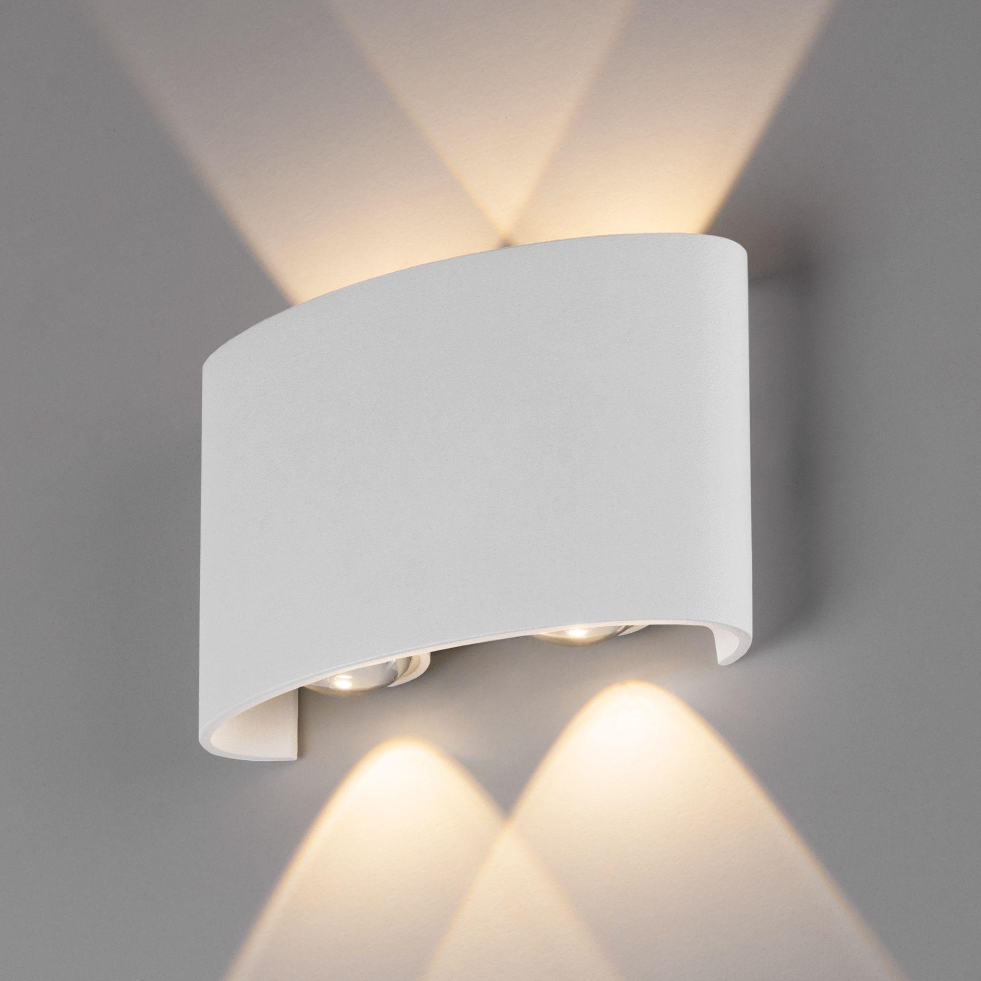 Пылевлагозащи<wbr>щенный светодиодный светильник Twinky Double белый IP54 1555 Techno LED белый