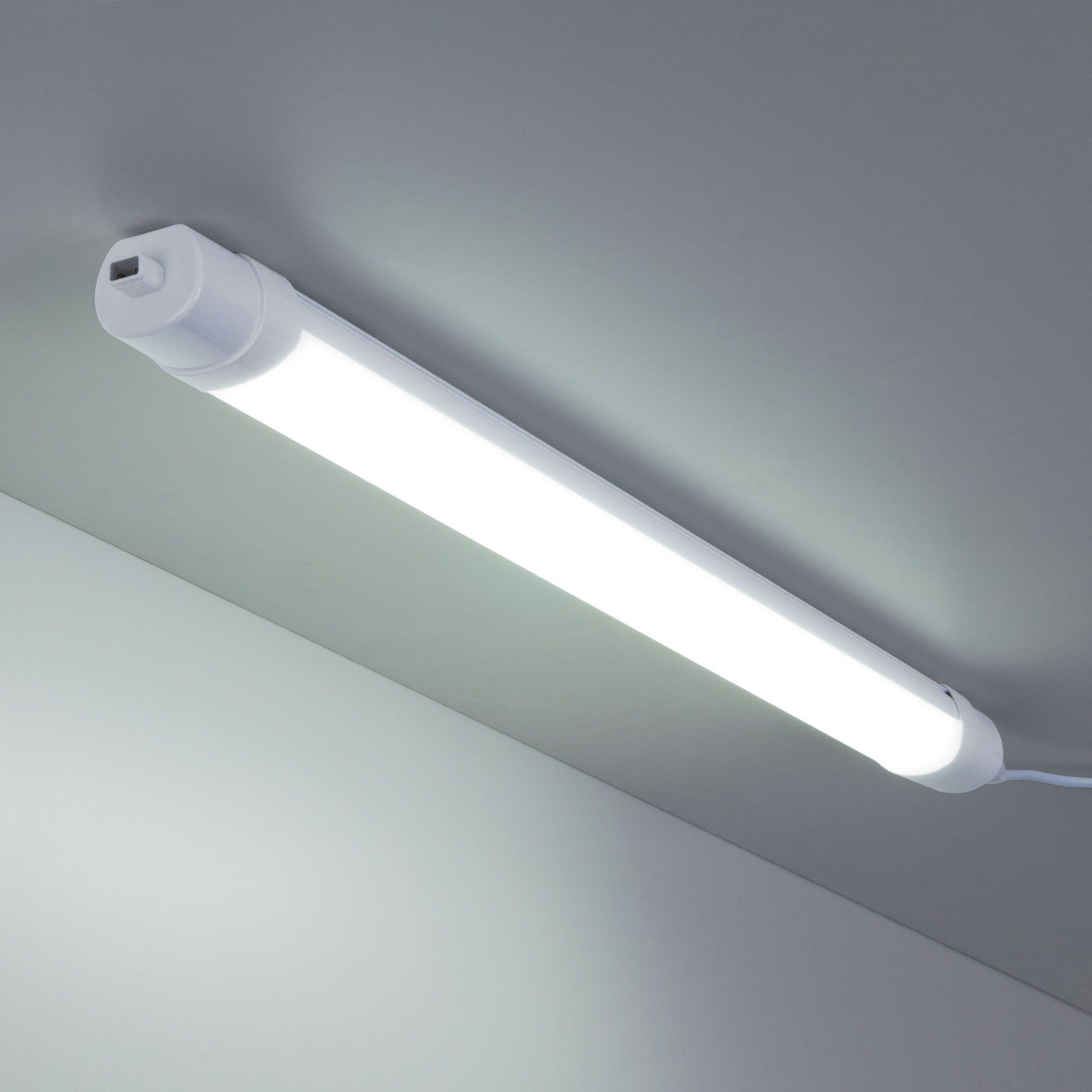 Пылевлагозащищенный светодиодный светильник 18 Вт 6500 K IP65 LTB35