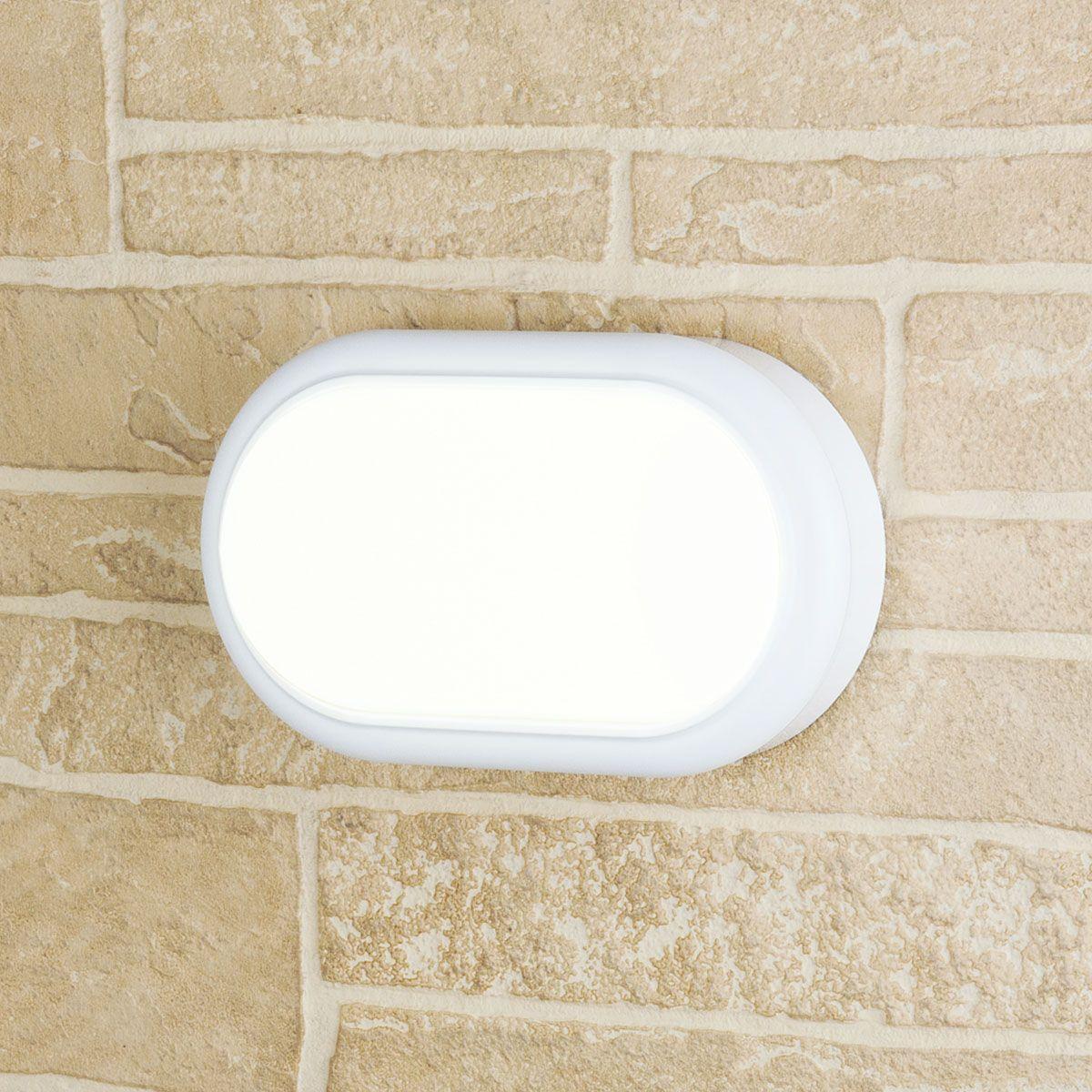 Пылевлагозащи<wbr>щенный светодиодный светильник Forssa белый IP54 LTB04