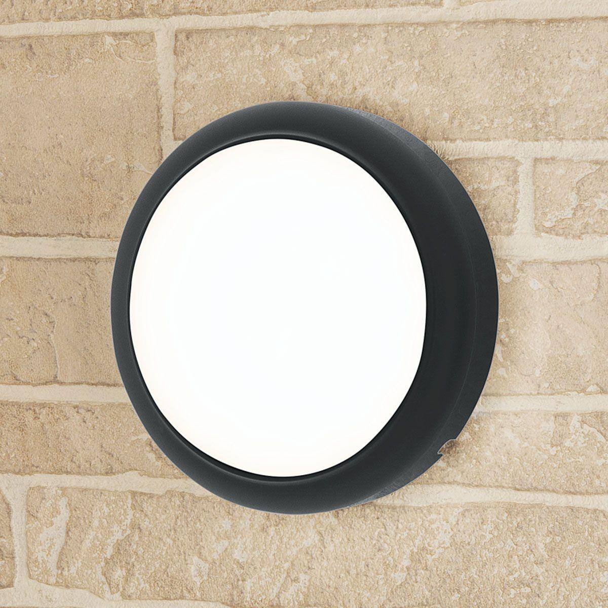 Пылевлагозащи<wbr>щенный светодиодный светильник Imatra черный 18 Вт 4000 K IP54 LTB07