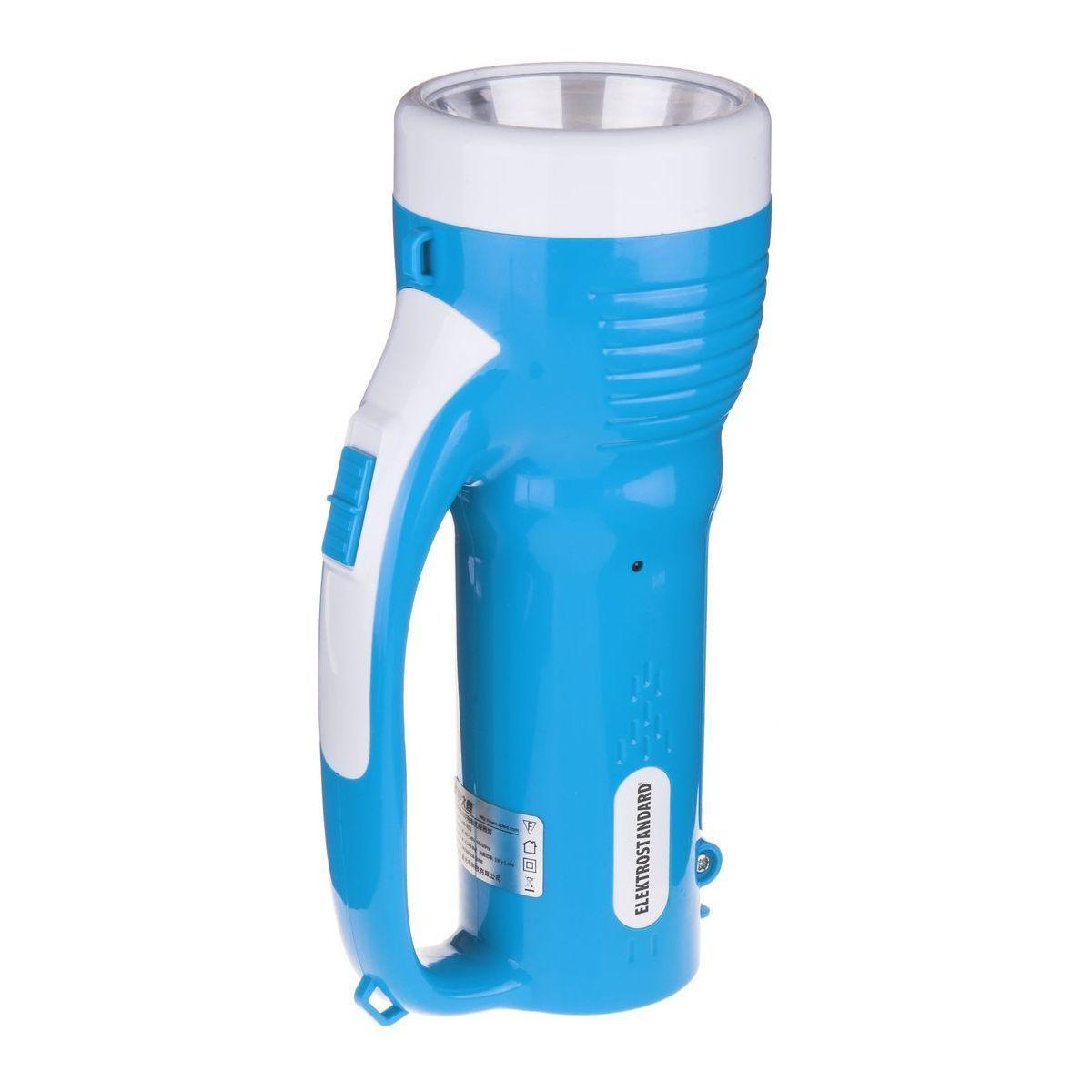 Ручной аккумуляторный светодиодный фонарь Torres FLD70-2,4W голубой