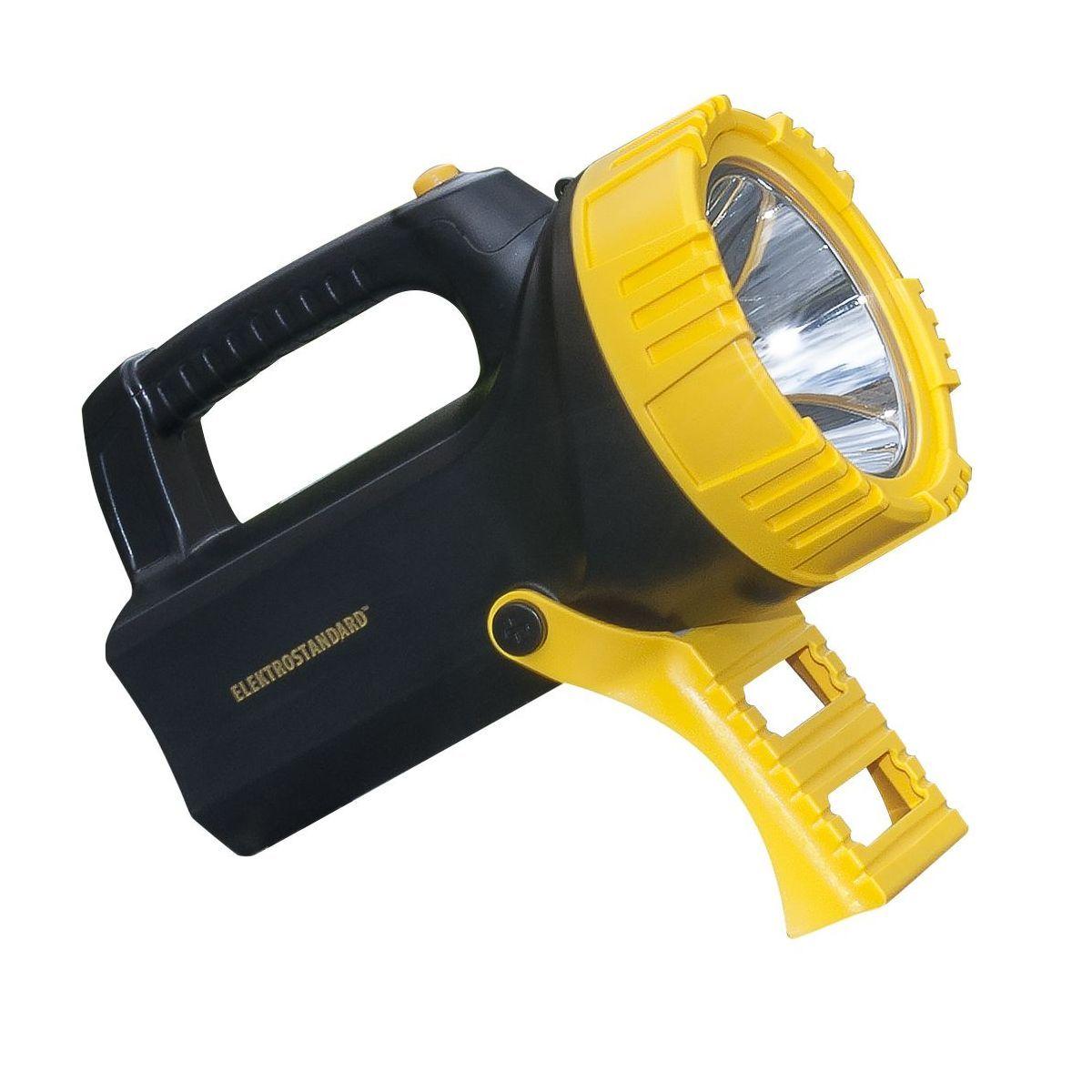 Ручной аккумуляторный светодиодный прожектор Tourist FLK27-26-10W-01led BK