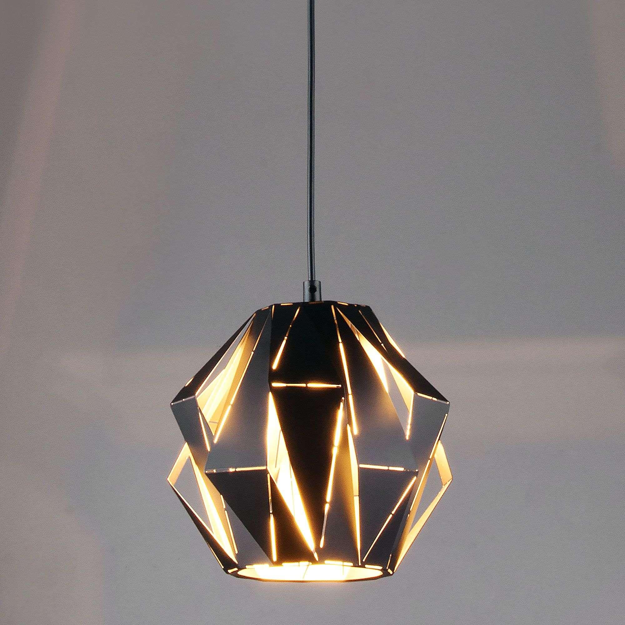 Светильник подвесной матовый в стиле лофт 50137/1 черный
