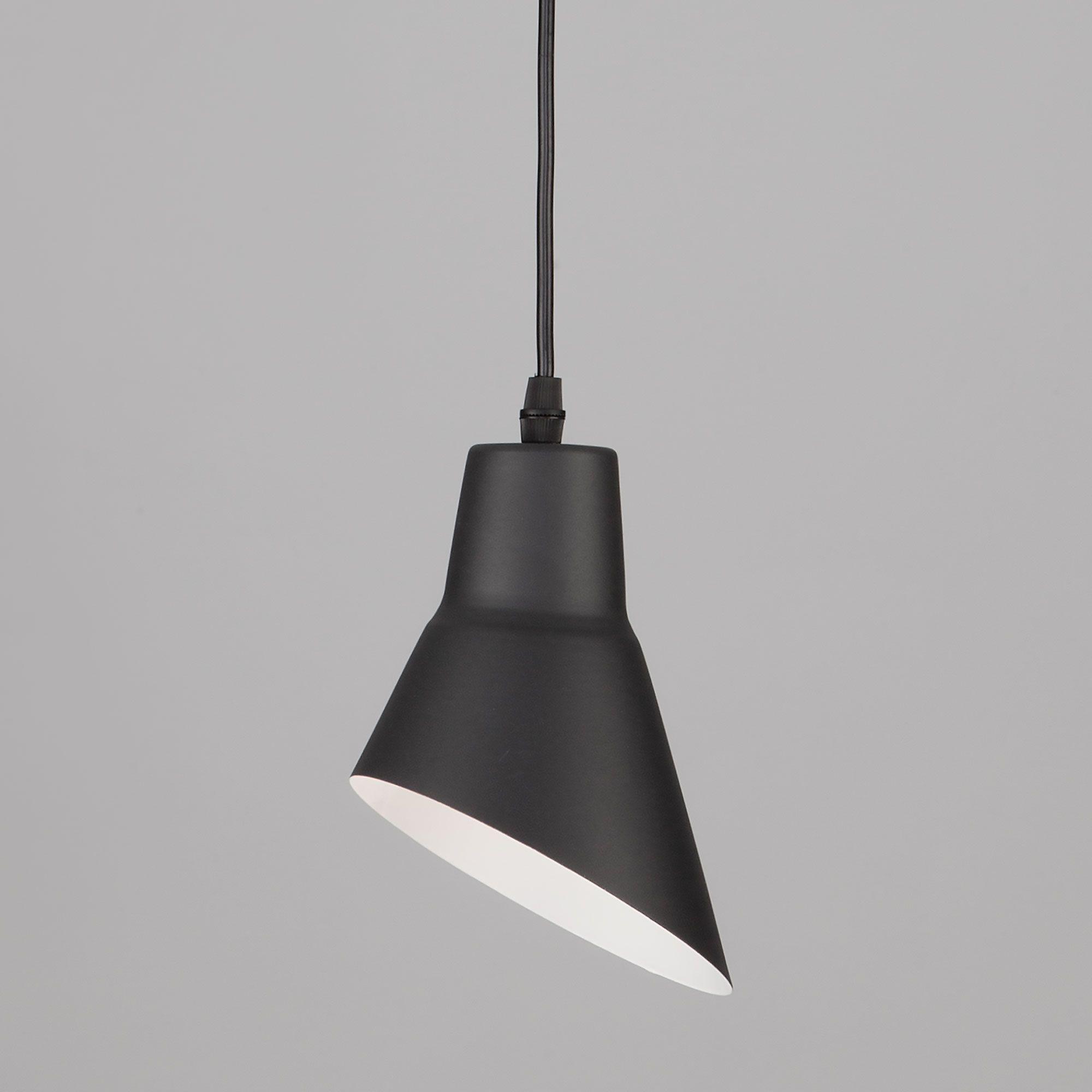 Светильник подвесной с плафоном 50069/1 черный