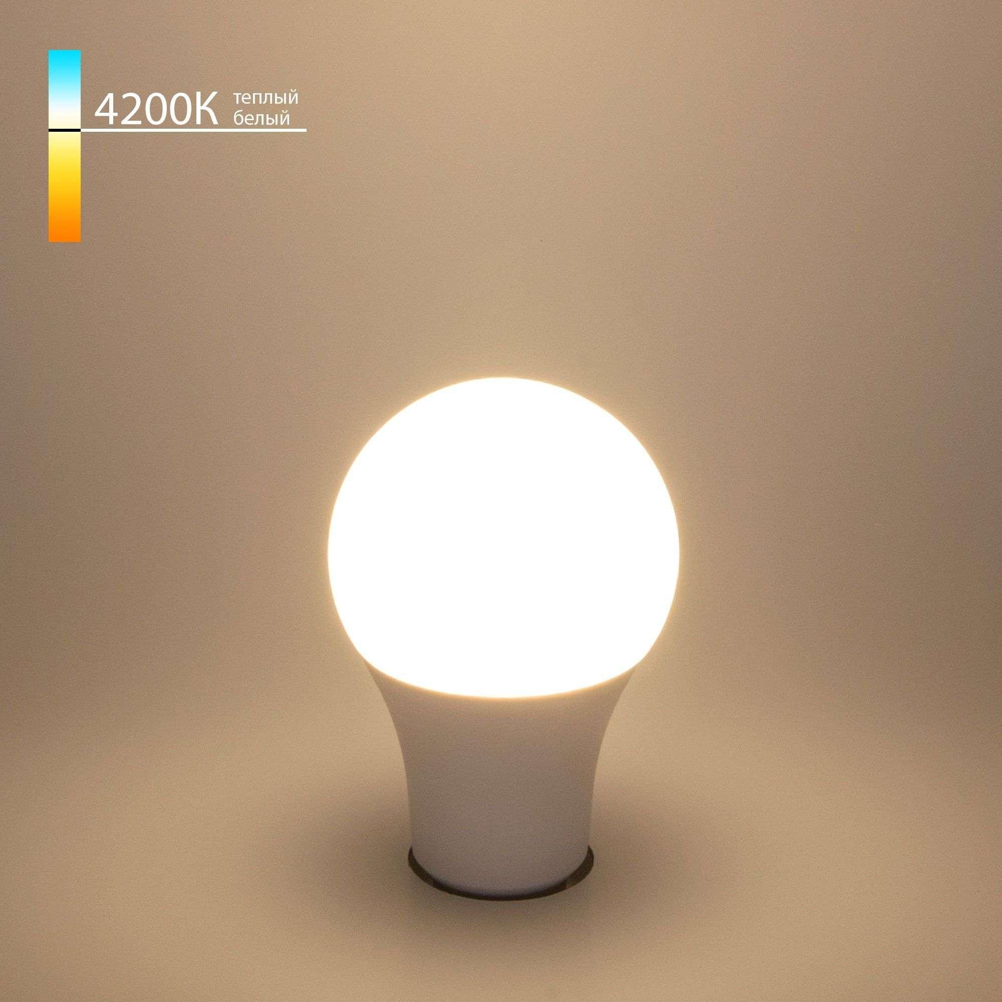 Светодиодная лампа A60 15W 4200K E27 Classic LED D 15W 4200K E27